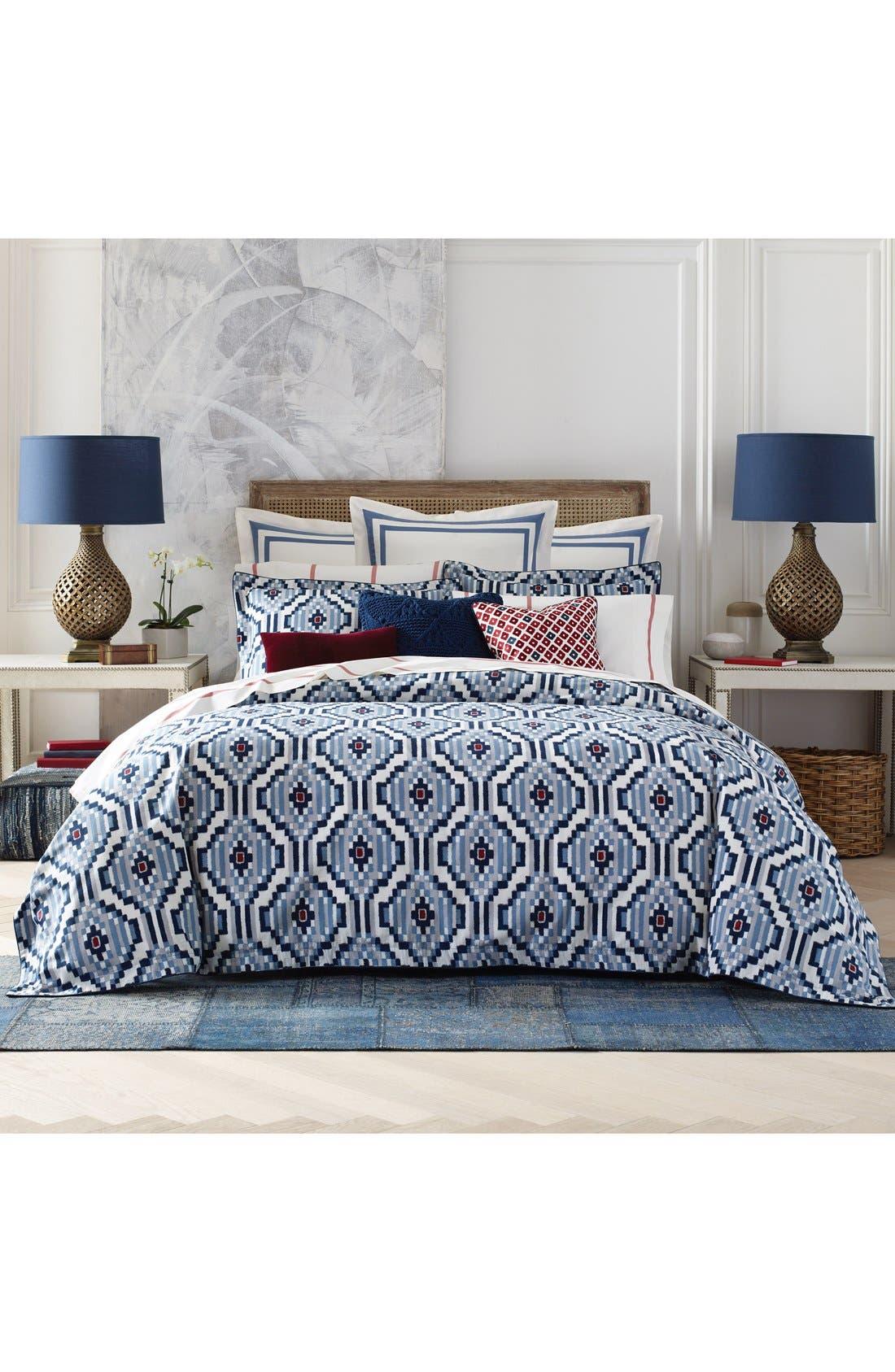 Ellis Island Comforter & Sham Set,                         Main,                         color, Blue