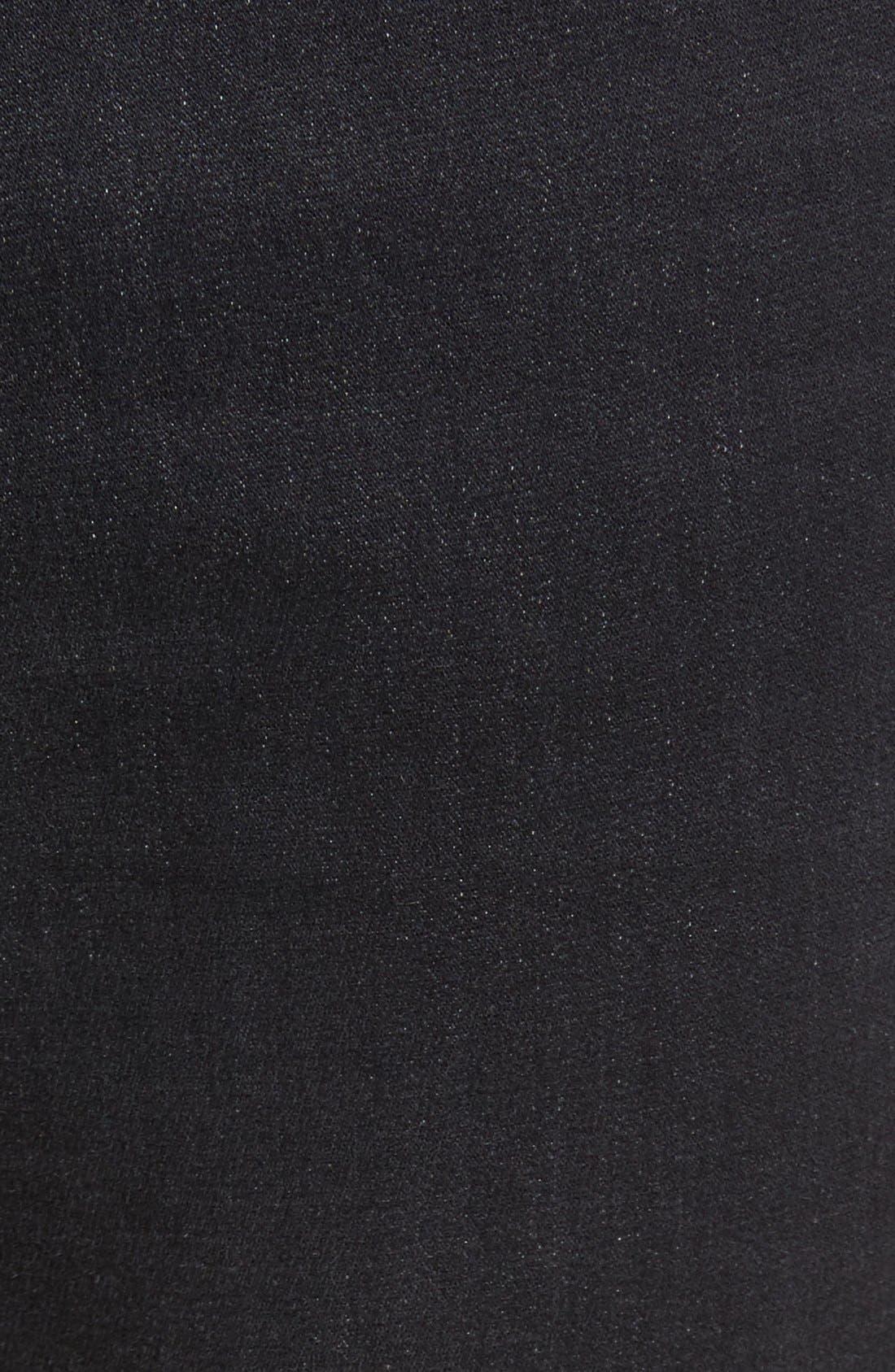 Torino Slim Fit Jeans,                             Alternate thumbnail 6, color,                             Raven Black