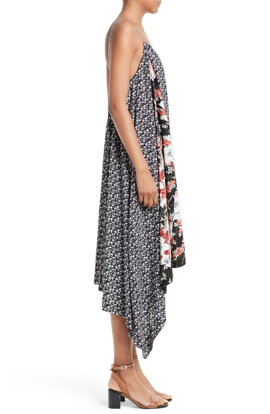 Alternate Image 3  - rag & bone Londar Print Swing Dress