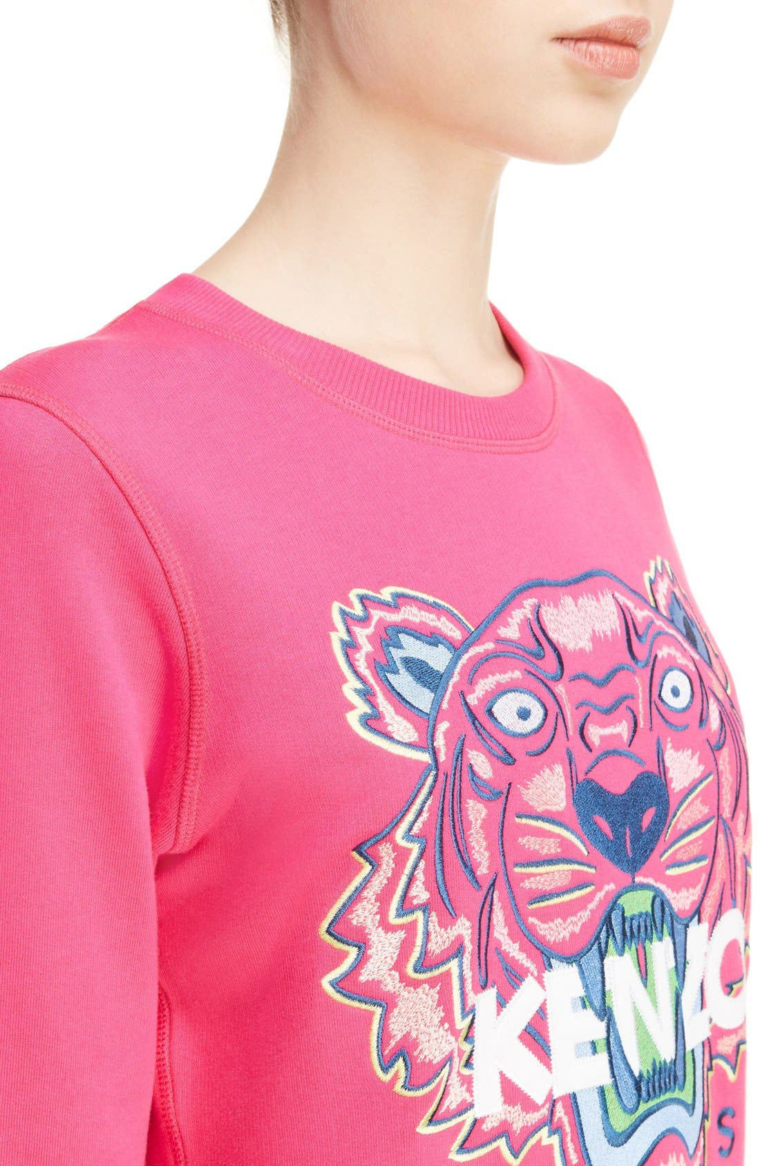 Alternate Image 4  - KENZO Embroidered Tiger Cotton Sweatshirt