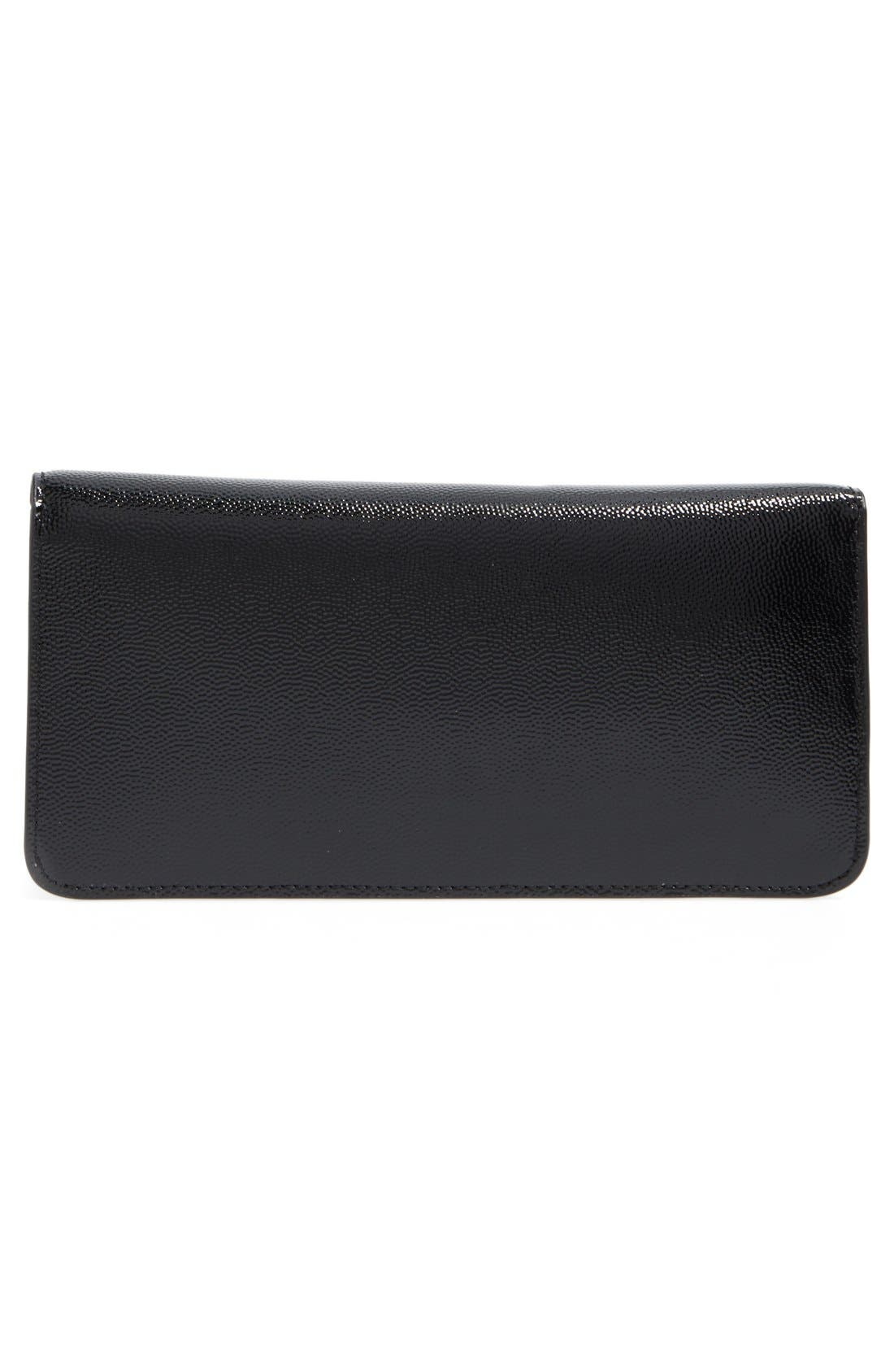 Alternate Image 3  - Tory Burch Gigi Caviar Leather Clutch