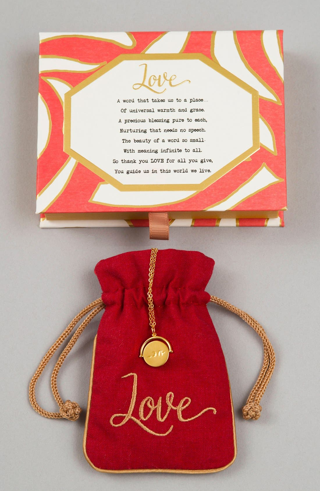Alternate Image 2  - lulu dk Love Love Code Charm Necklace