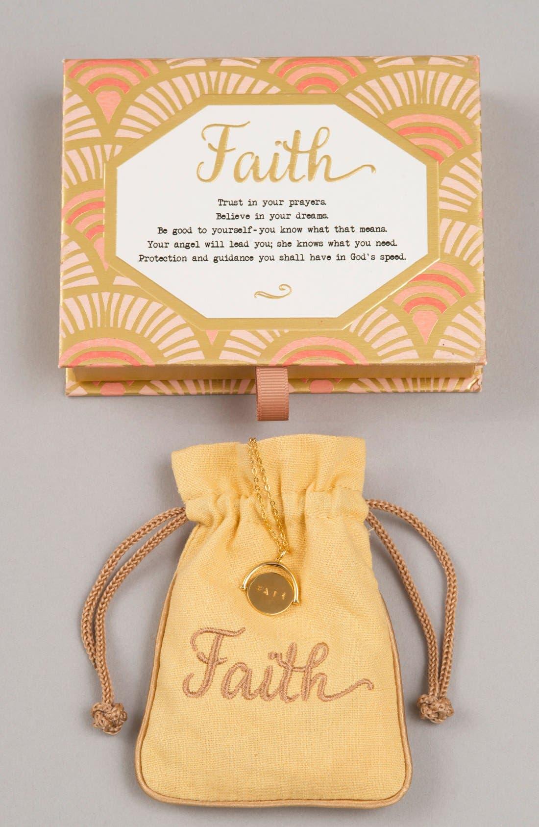 Alternate Image 2  - lulu dk Faith Love Code Charm Necklace