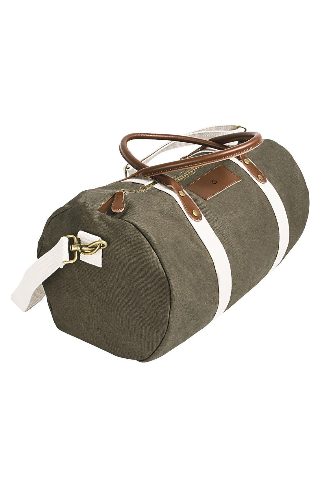 Alternate Image 3  - Cathy's Concepts Monogram Duffel Bag