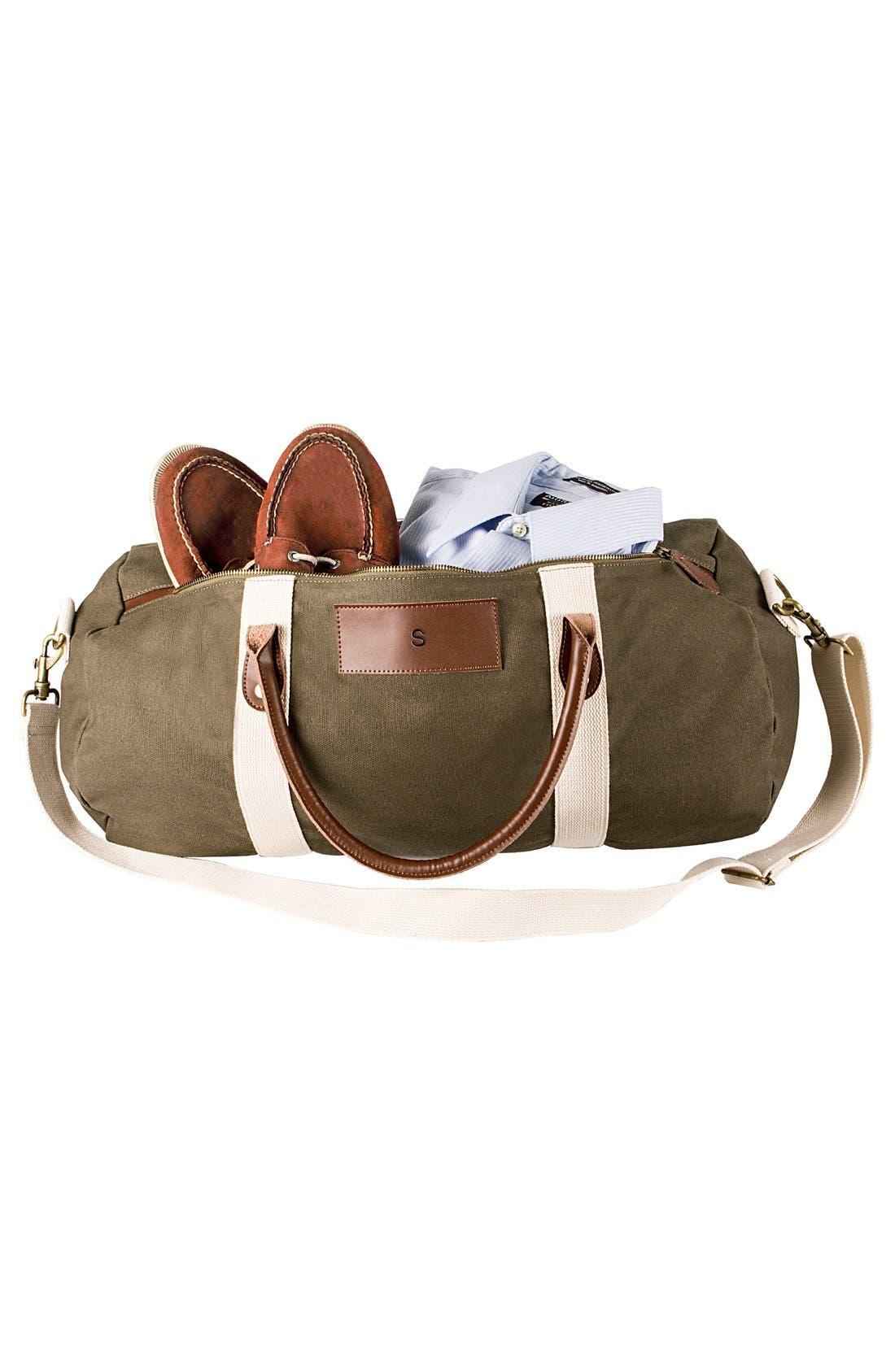 Alternate Image 7  - Cathy's Concepts Monogram Duffel Bag