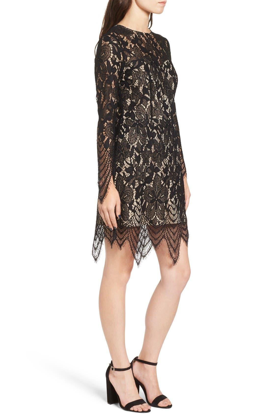 Alternate Image 3  - Love, Fire Lace Dress
