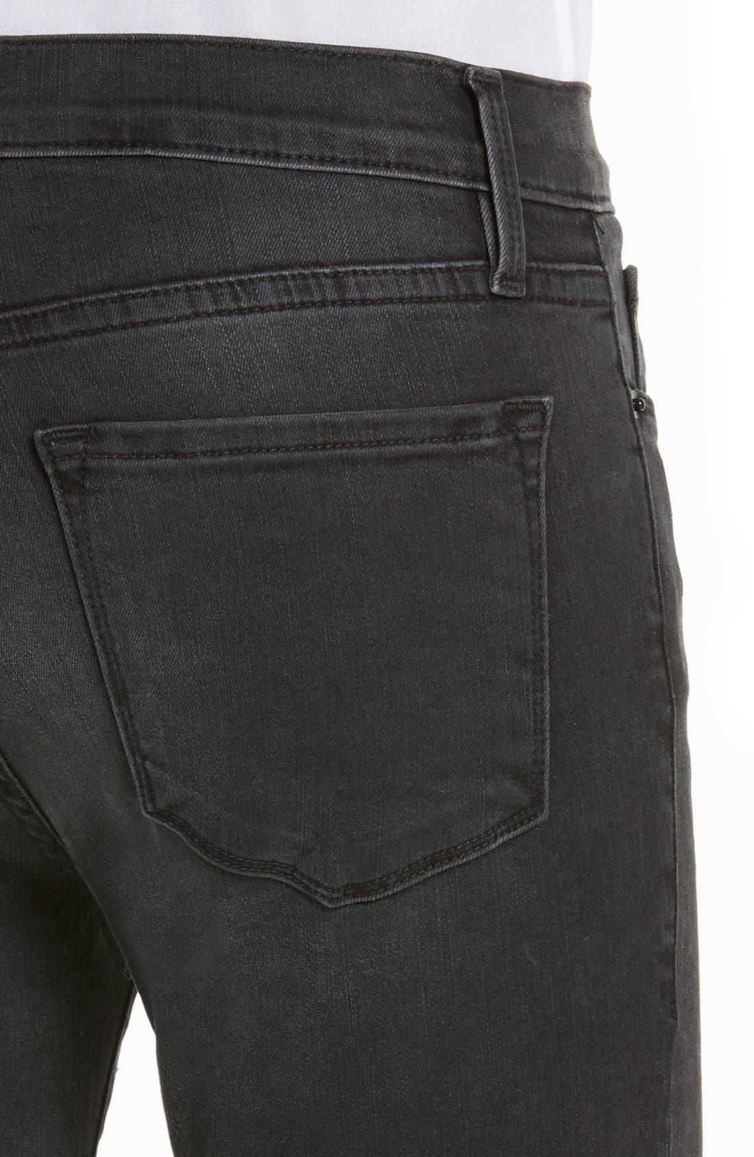 Alternate Image 4  - FRAME Le Crop Bell High Waist Crop Jeans (Whittier)
