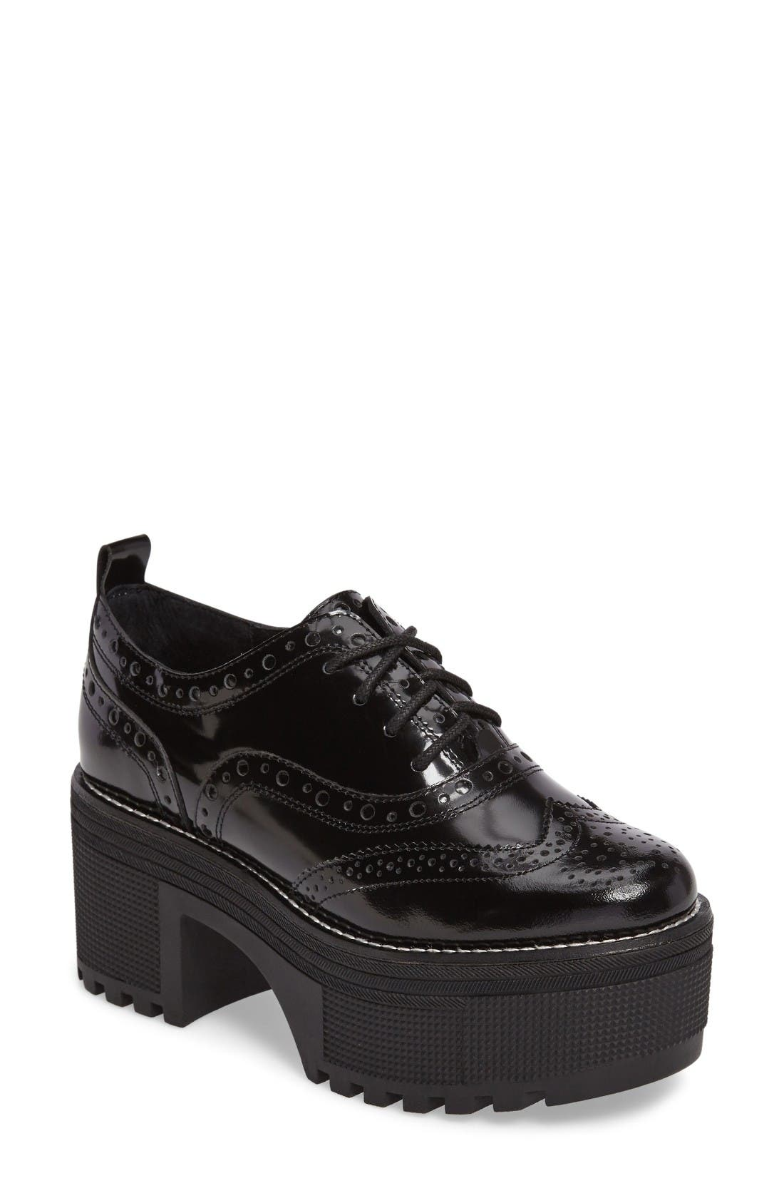 Alternate Image 1 Selected - Jeffrey Campbell Rudeboy Oxford (Women)