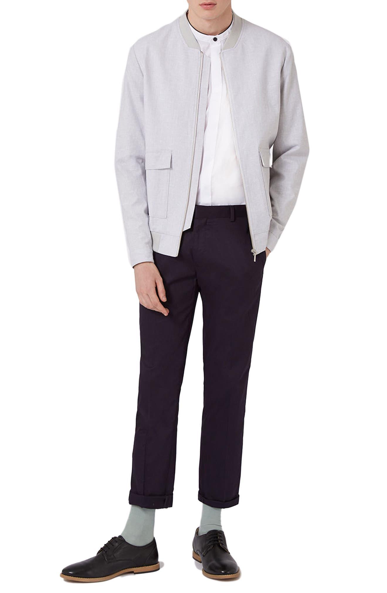 Alternate Image 3  - Topman Slim Fit Band Collar Dress Shirt
