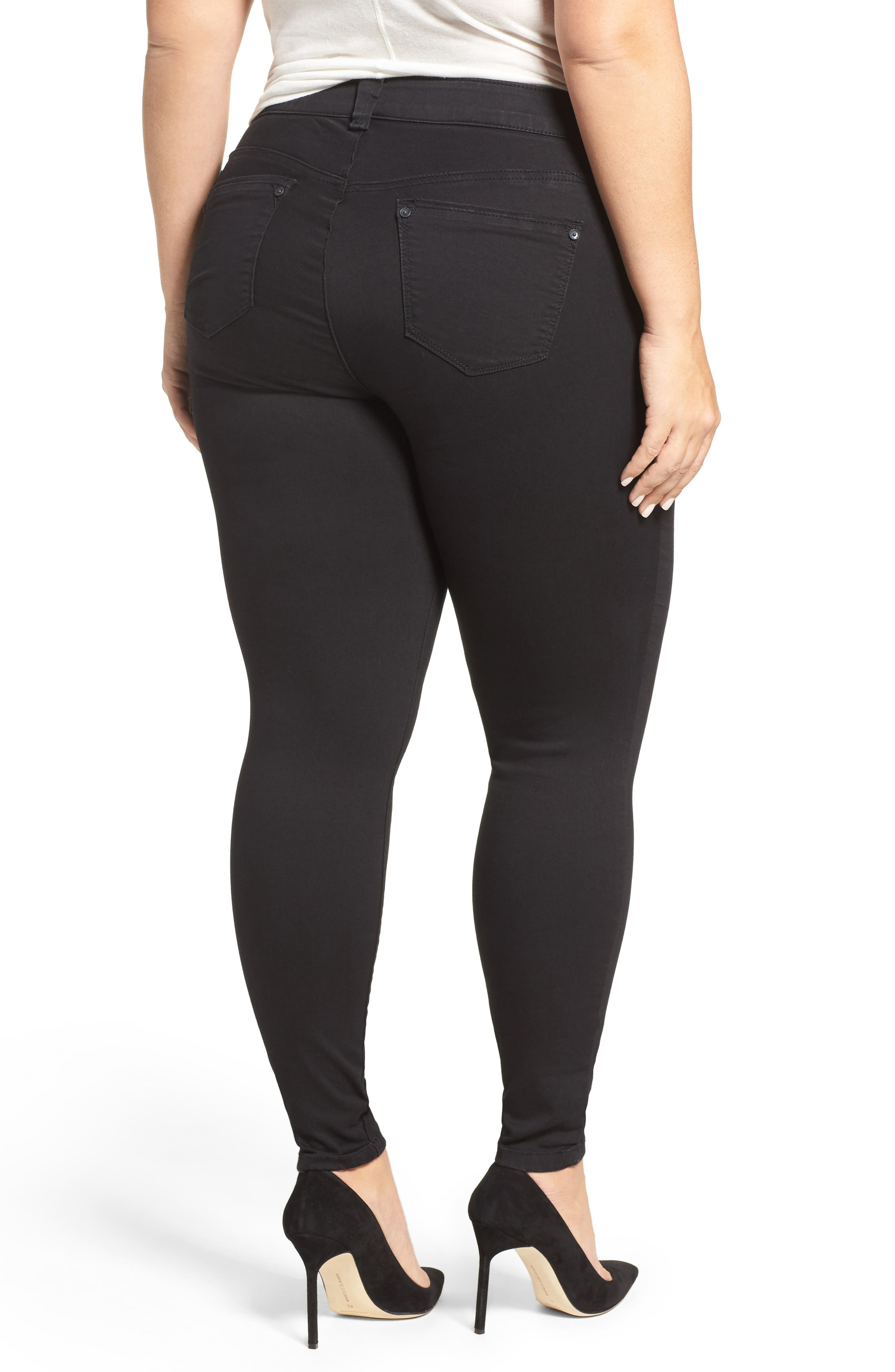 Alternate Image 2  - Wit & Wisdom Ab-solution Stretch Skinny Jeans (Plus Size) (Nordstrom Exclusive)