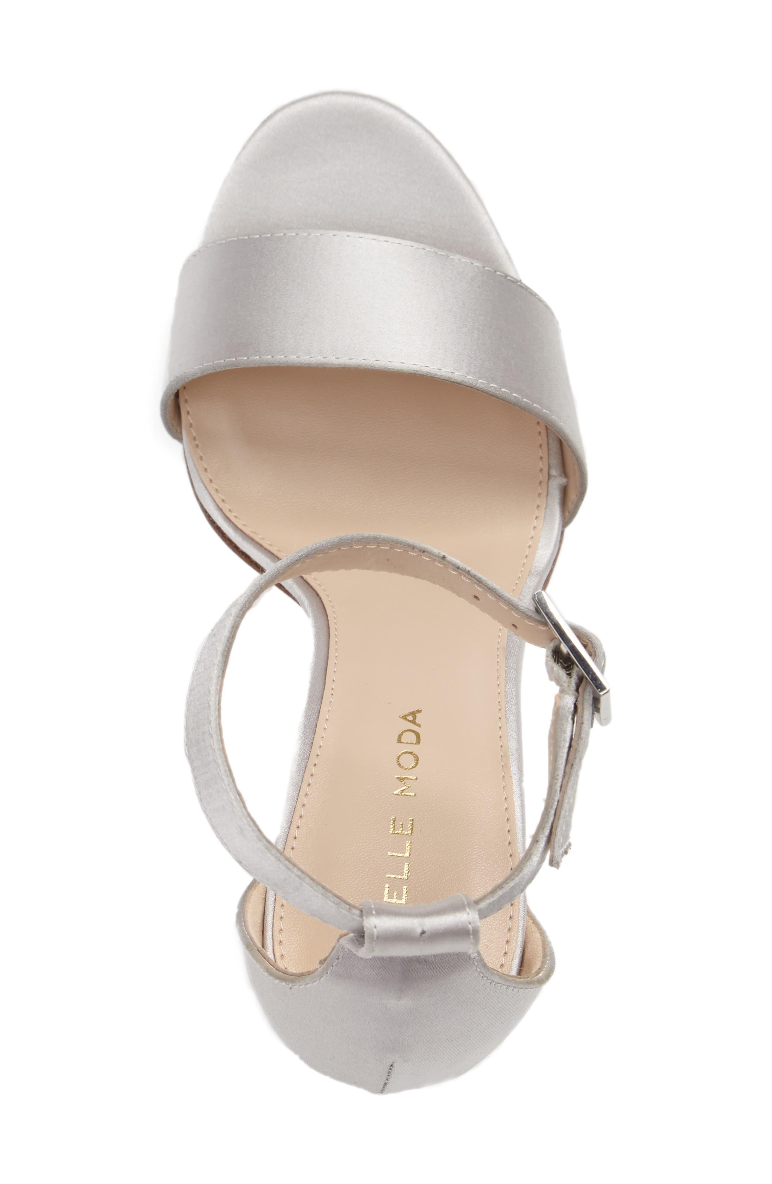 Alternate Image 3  - Pelle Moda Bonnie 3 Embellished Ankle Strap Sandal (Women)
