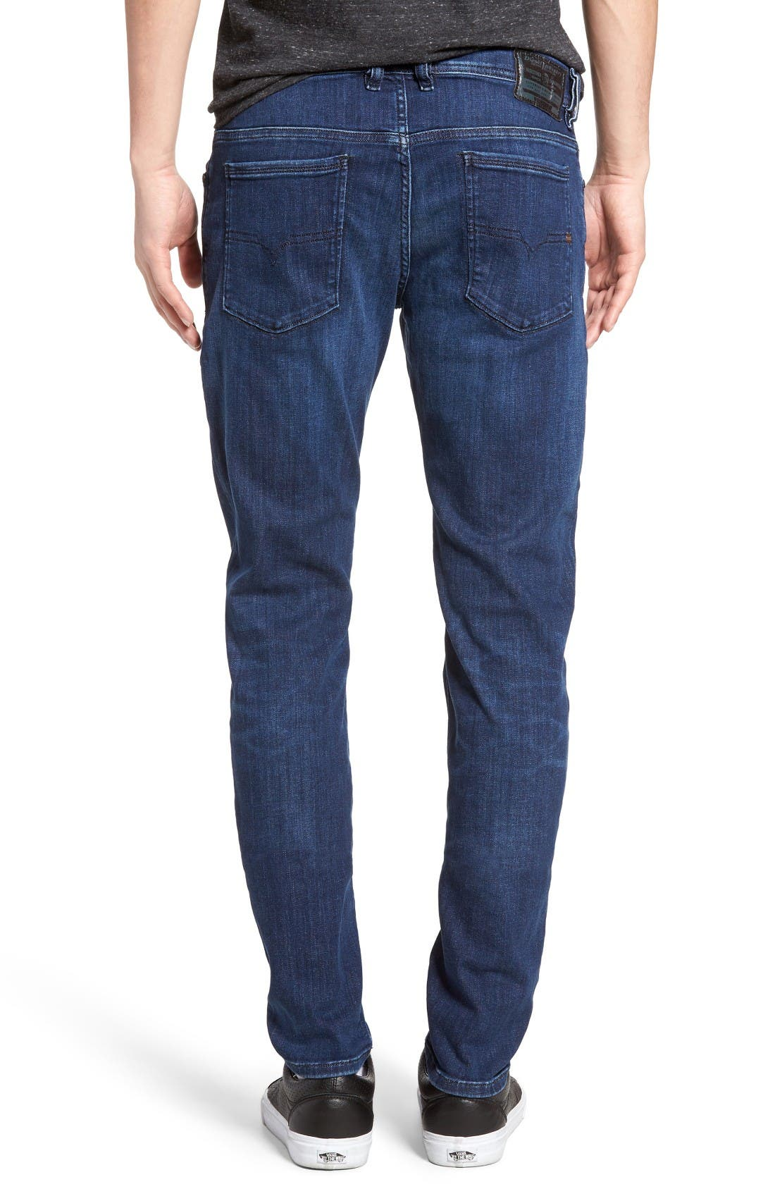 Alternate Image 2  - DIESEL® Sleenker Skinny Fit Jeans (0679K)