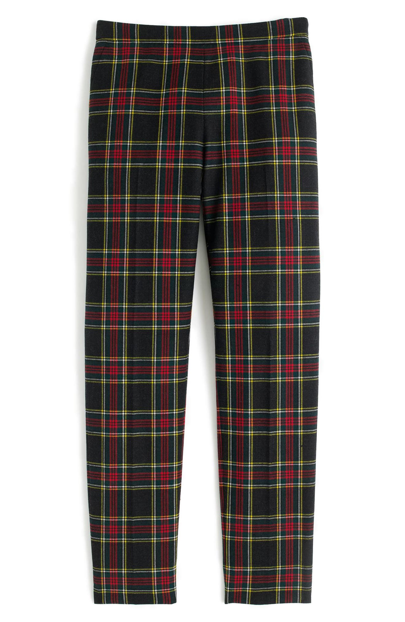 Alternate Image 3  - J.Crew Martie Stewart Plaid Stretch Wool Pants (Regular & Petite)