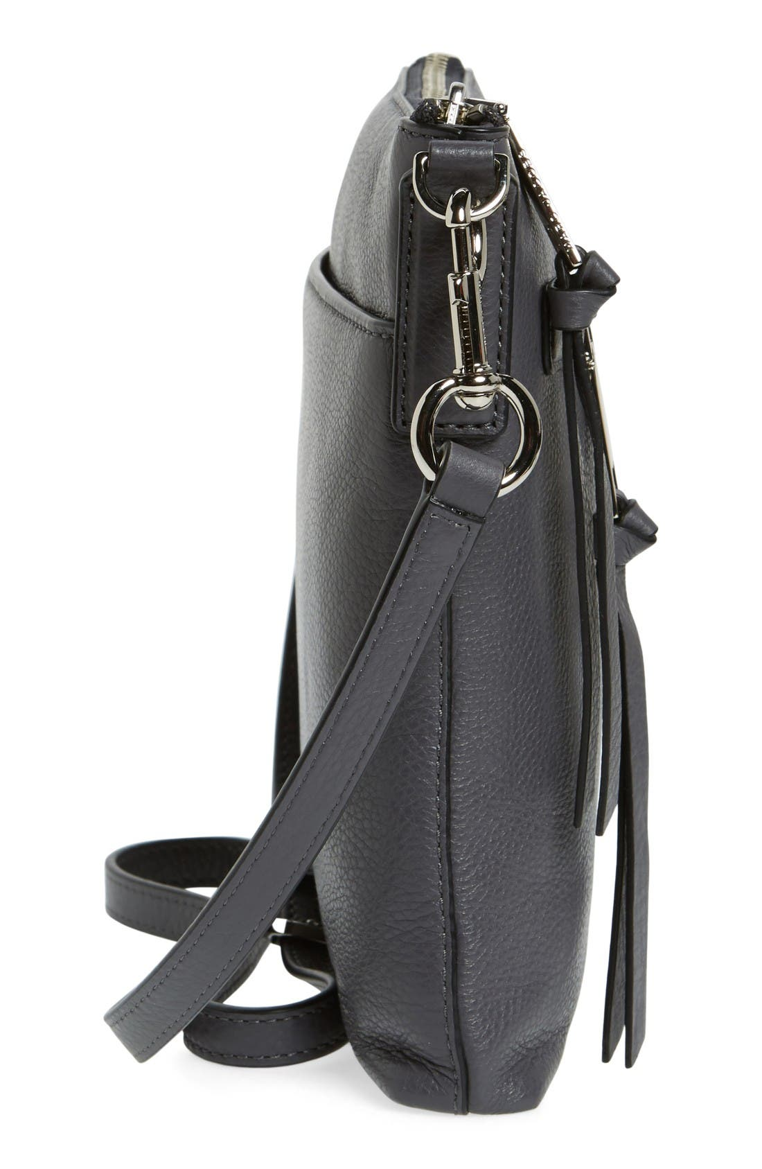 Alternate Image 5  - MARC JACOBS Recruit North/South Leather Crossbody Bag