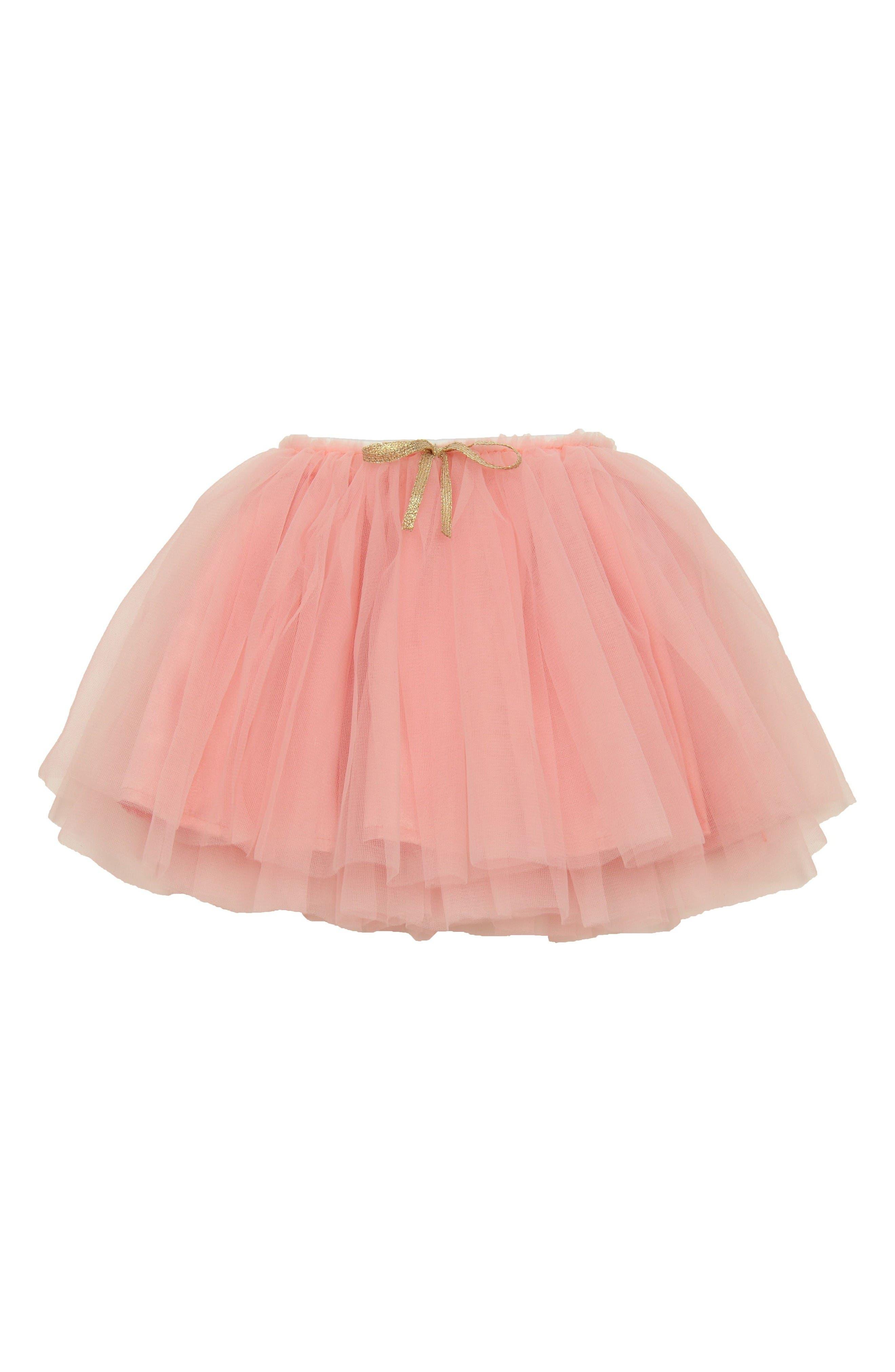 Tutu Skirt,                             Main thumbnail 1, color,                             Peach