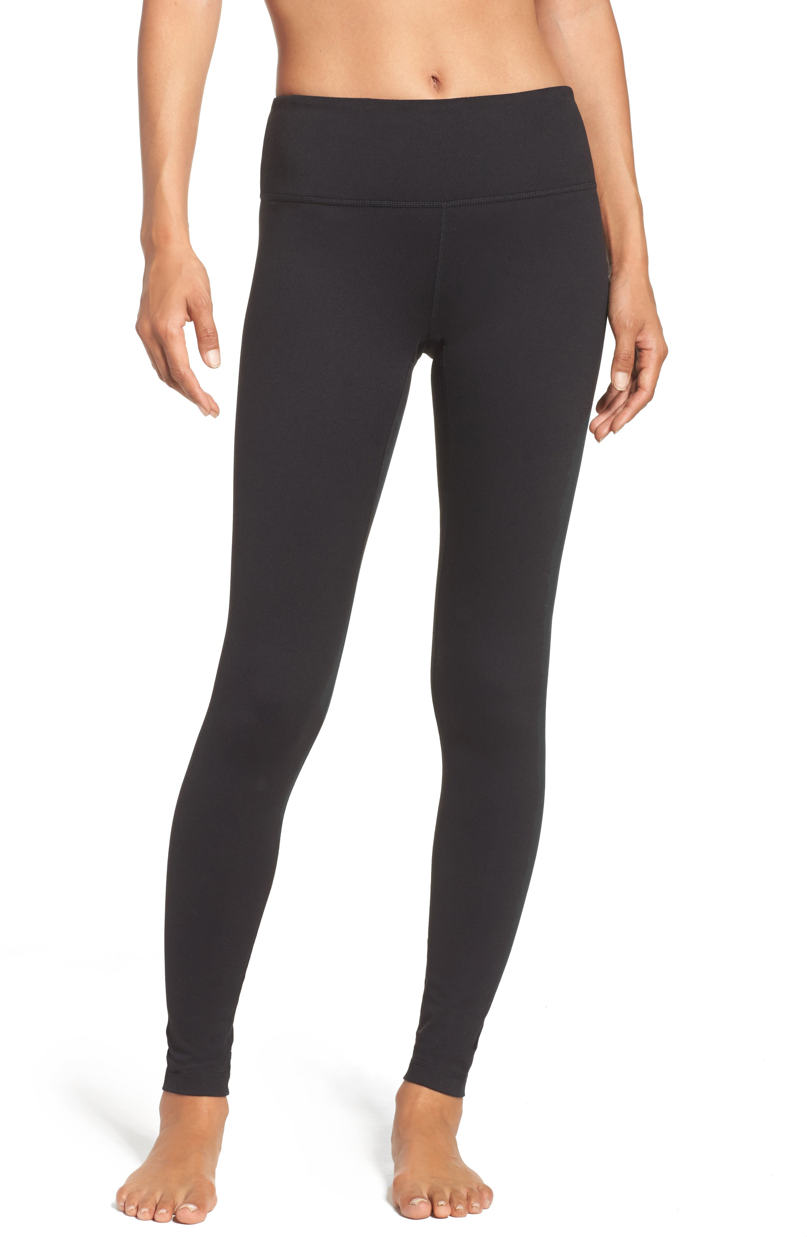 Power Live In Leggings,                         Main,                         color, Black