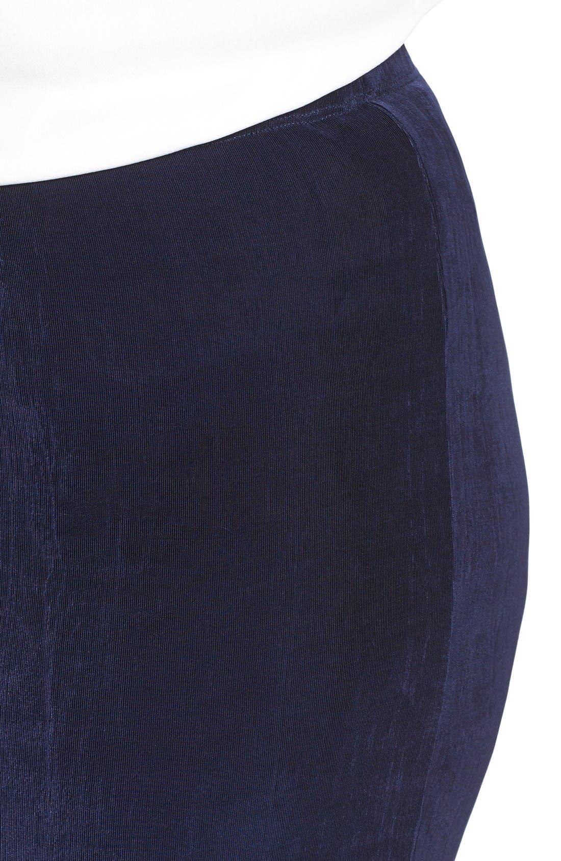 Alternate Image 4  - Vikki Vi Stretch Knit Crop Pants (Plus Size)