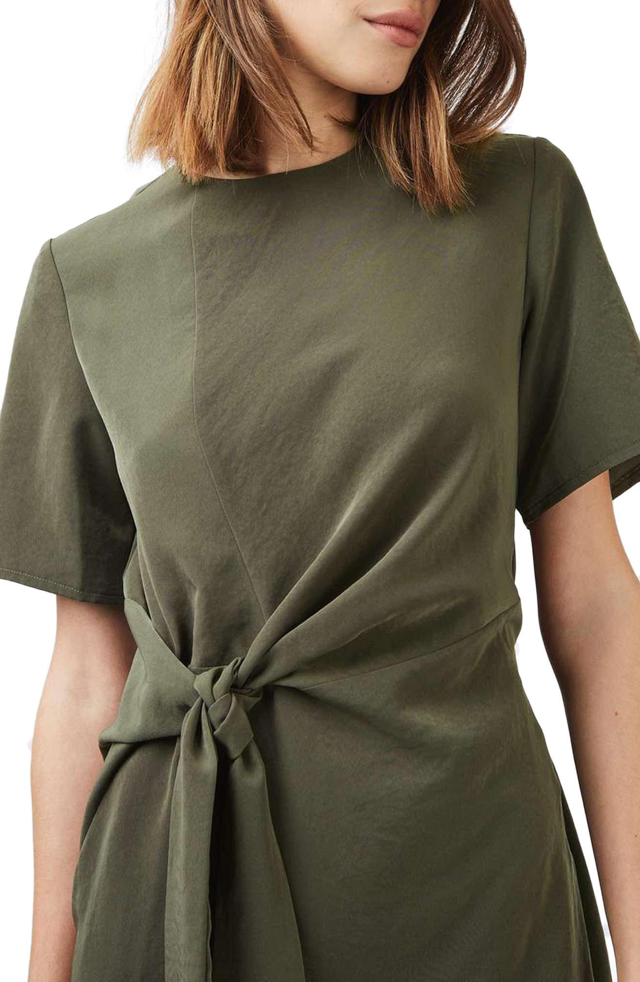 Alternate Image 5  - Topshop Front Knot Dress