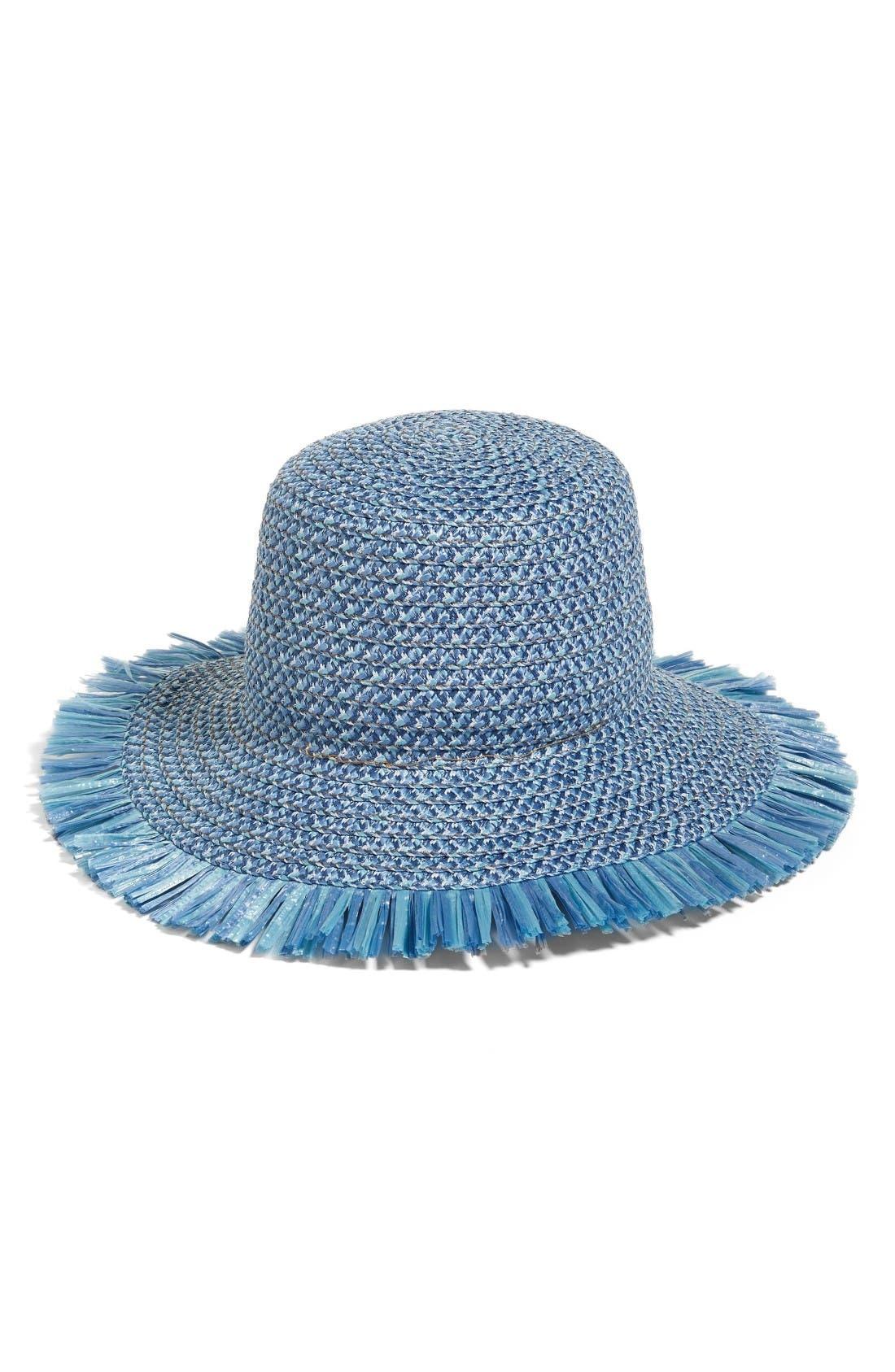 ERIC JAVITS  Tiki  Bucket Hat - Blue caa348397d97