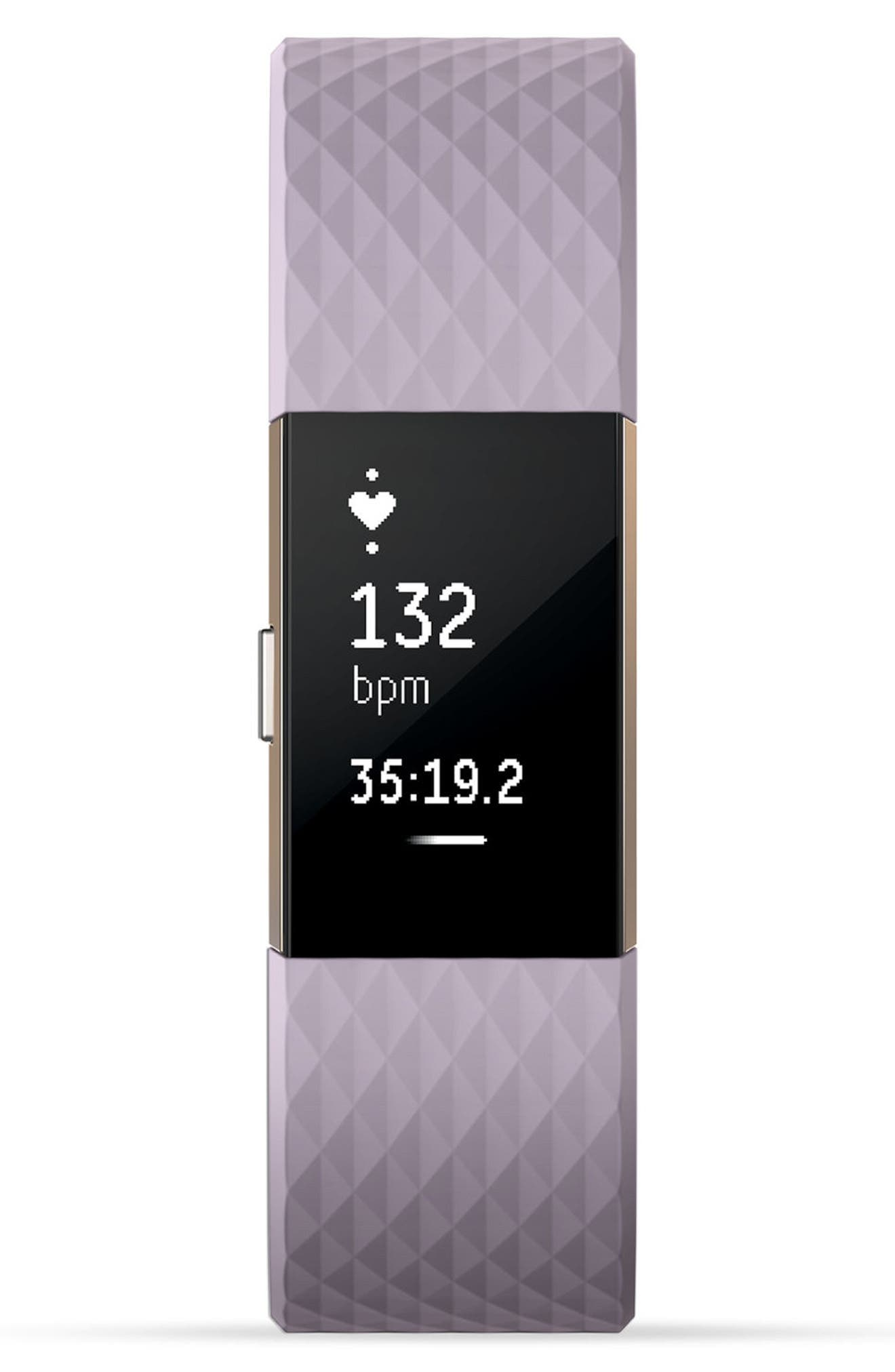 Charge 2 Special Edition Wireless Activity & Heart Rate Tracker,                             Alternate thumbnail 2, color,                             Lavender