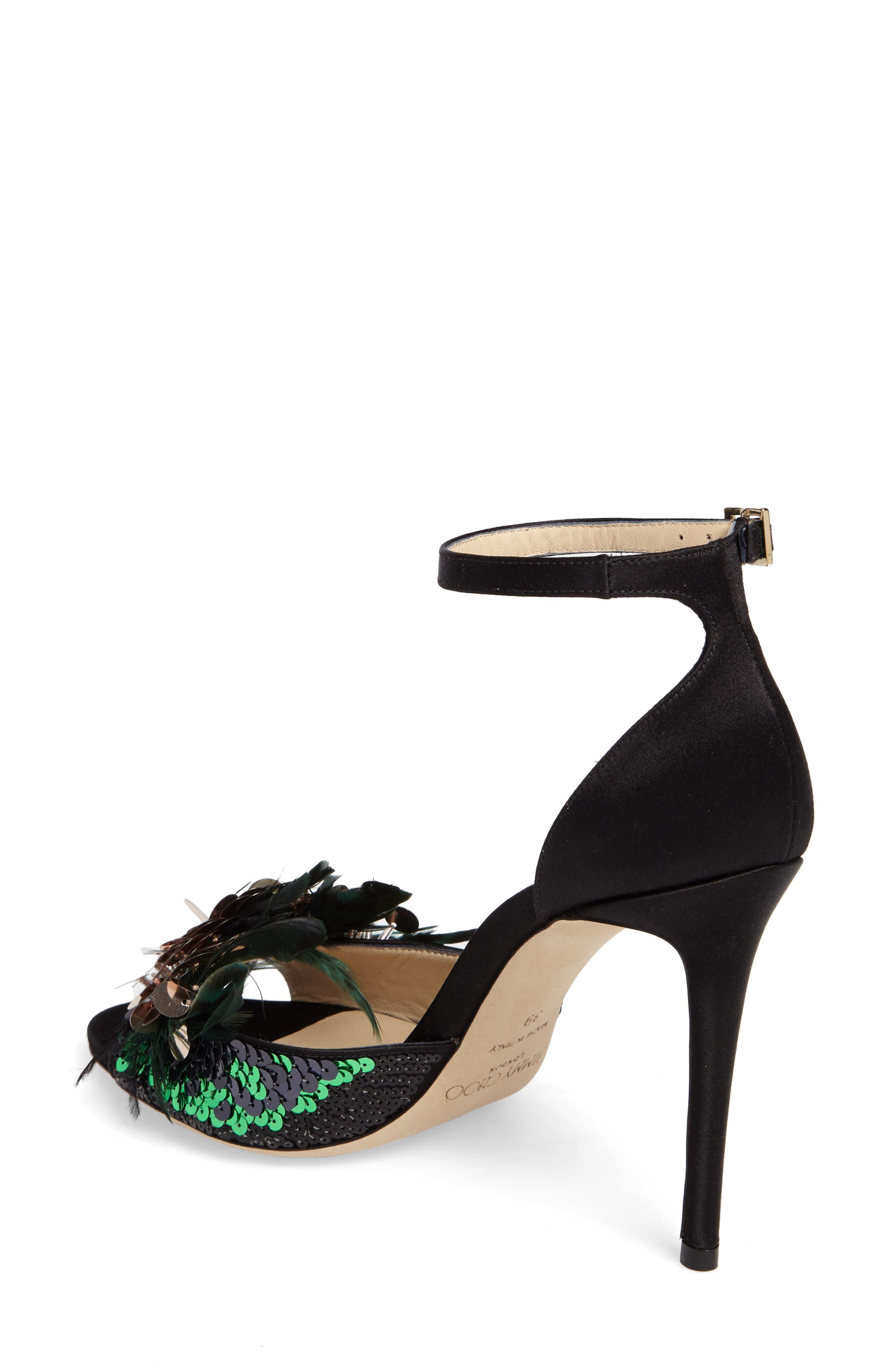 Alternate Image 2  - Jimmy Choo Annie Ankle Strap Sandal (Women)
