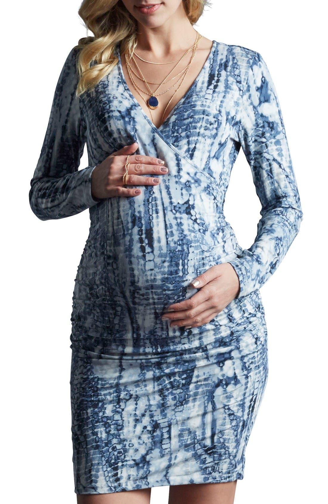 Tart 'Peaches' Maternity Body-Con Dress