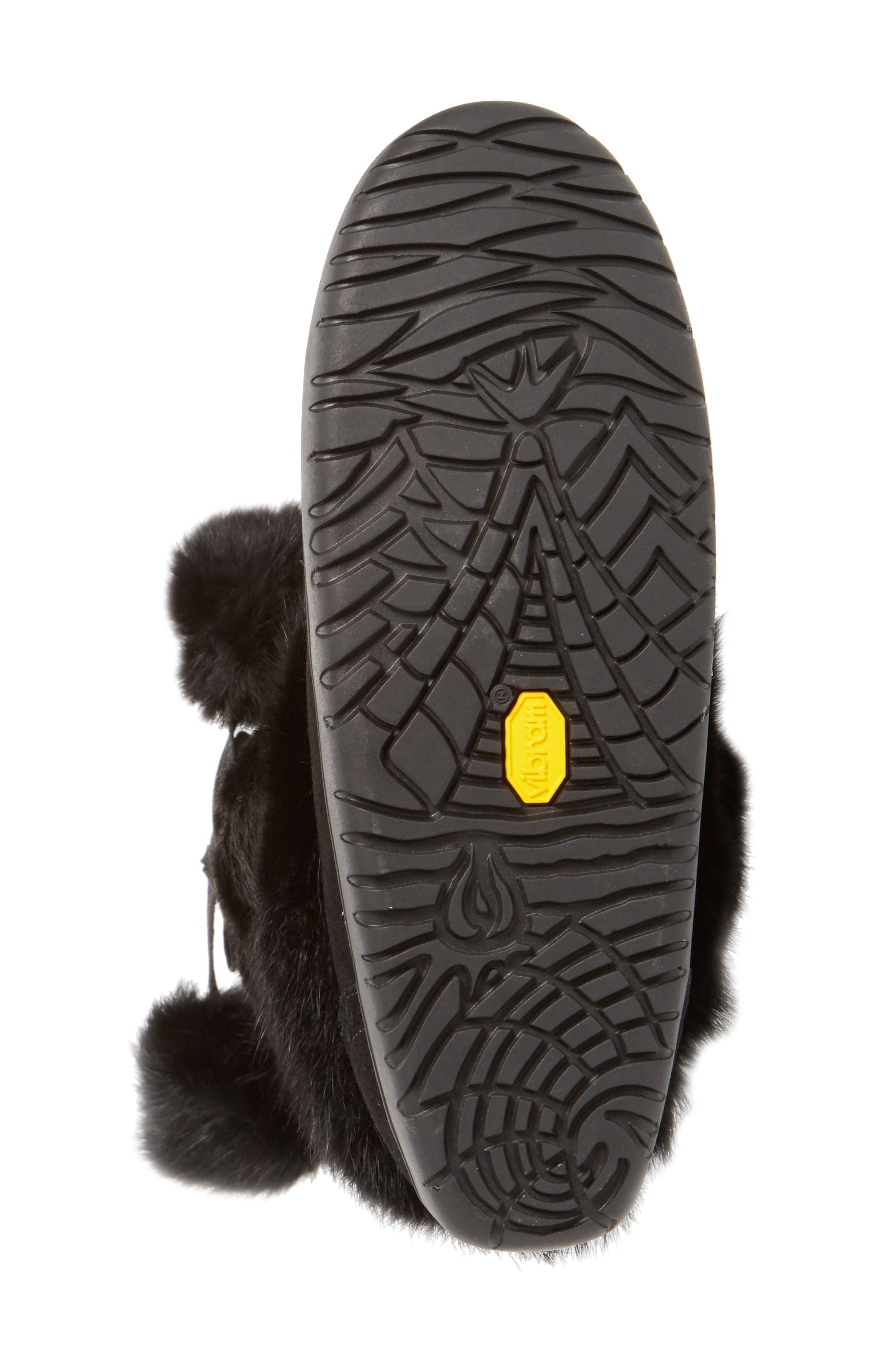 Alternate Image 4  - Manitobah Mukluks Snowy Owl Waterproof Genuine Fur Boot (Women)