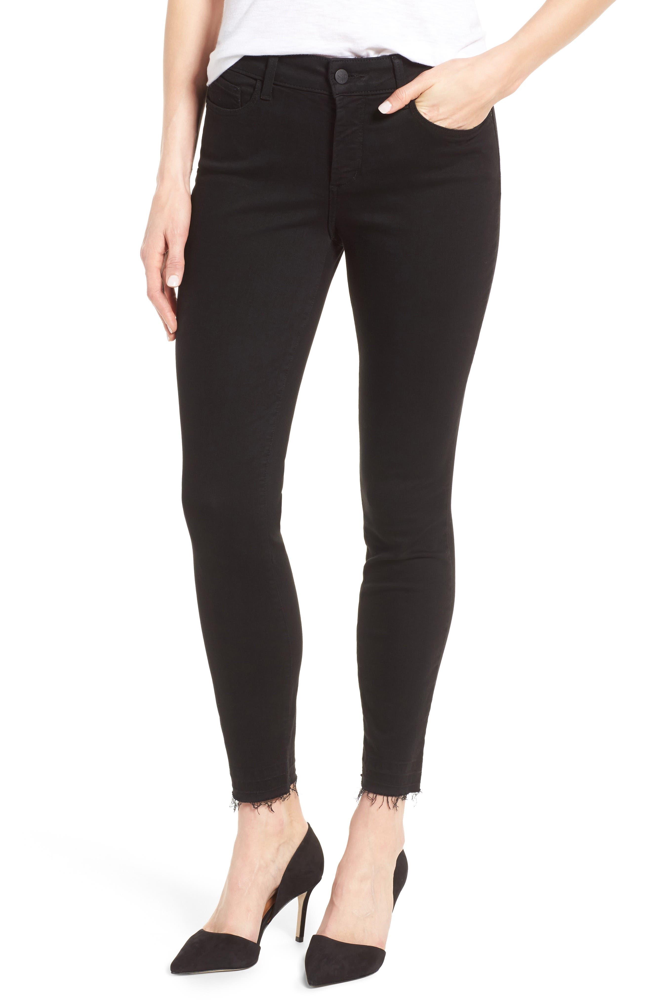 Main Image - NYDJ Ami Release Hem Stretch Skinny Jeans (Regular & Petite)