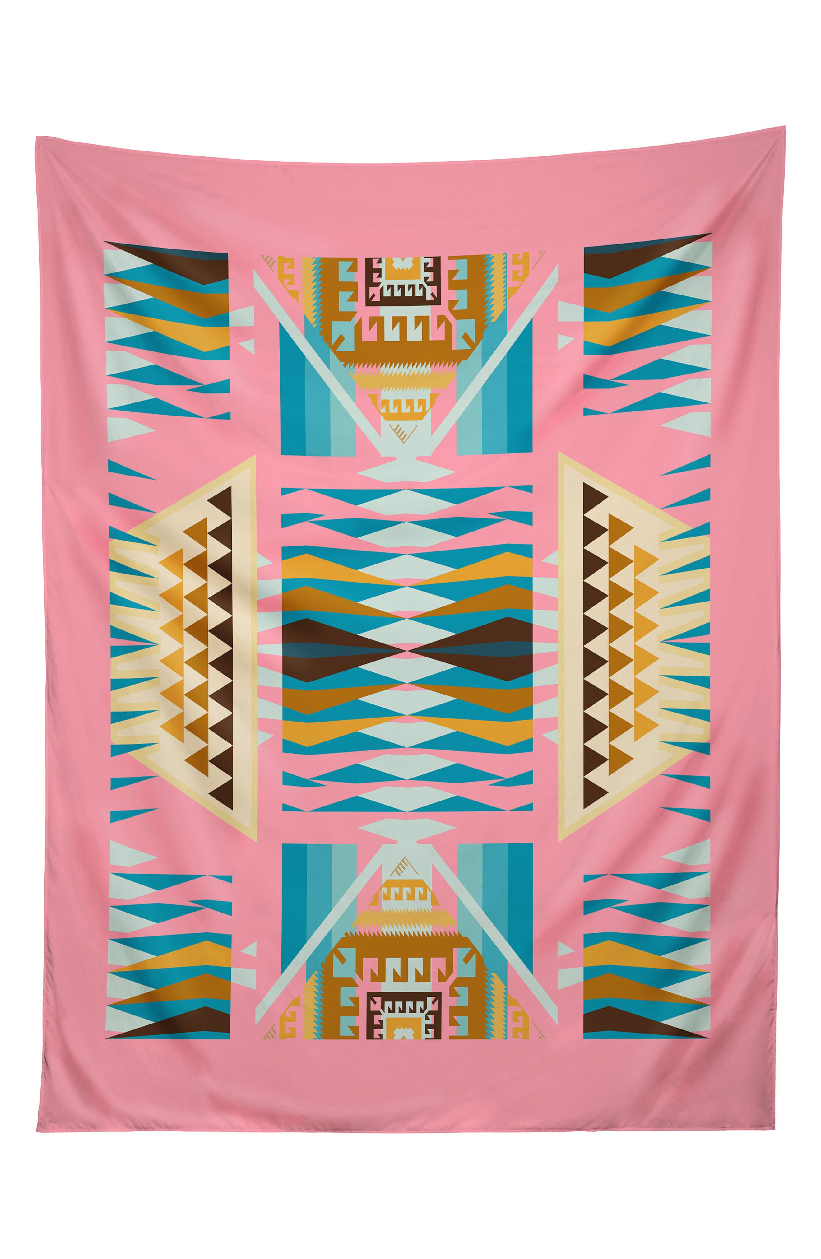 Acacia Pink Tapestry,                             Main thumbnail 1, color,                             Pink/ Multi
