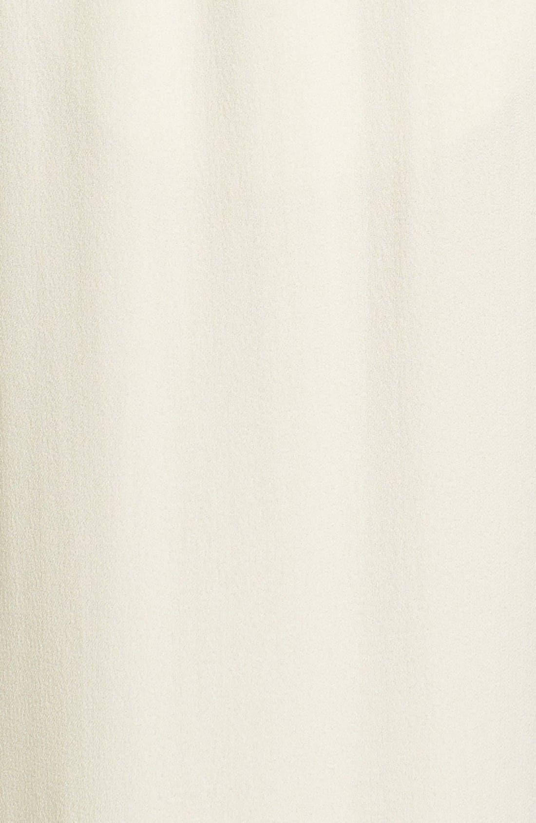 Alternate Image 5  - Eileen Fisher Silk Georgette Crepe Straight Ankle Pants (Regular & Petite)