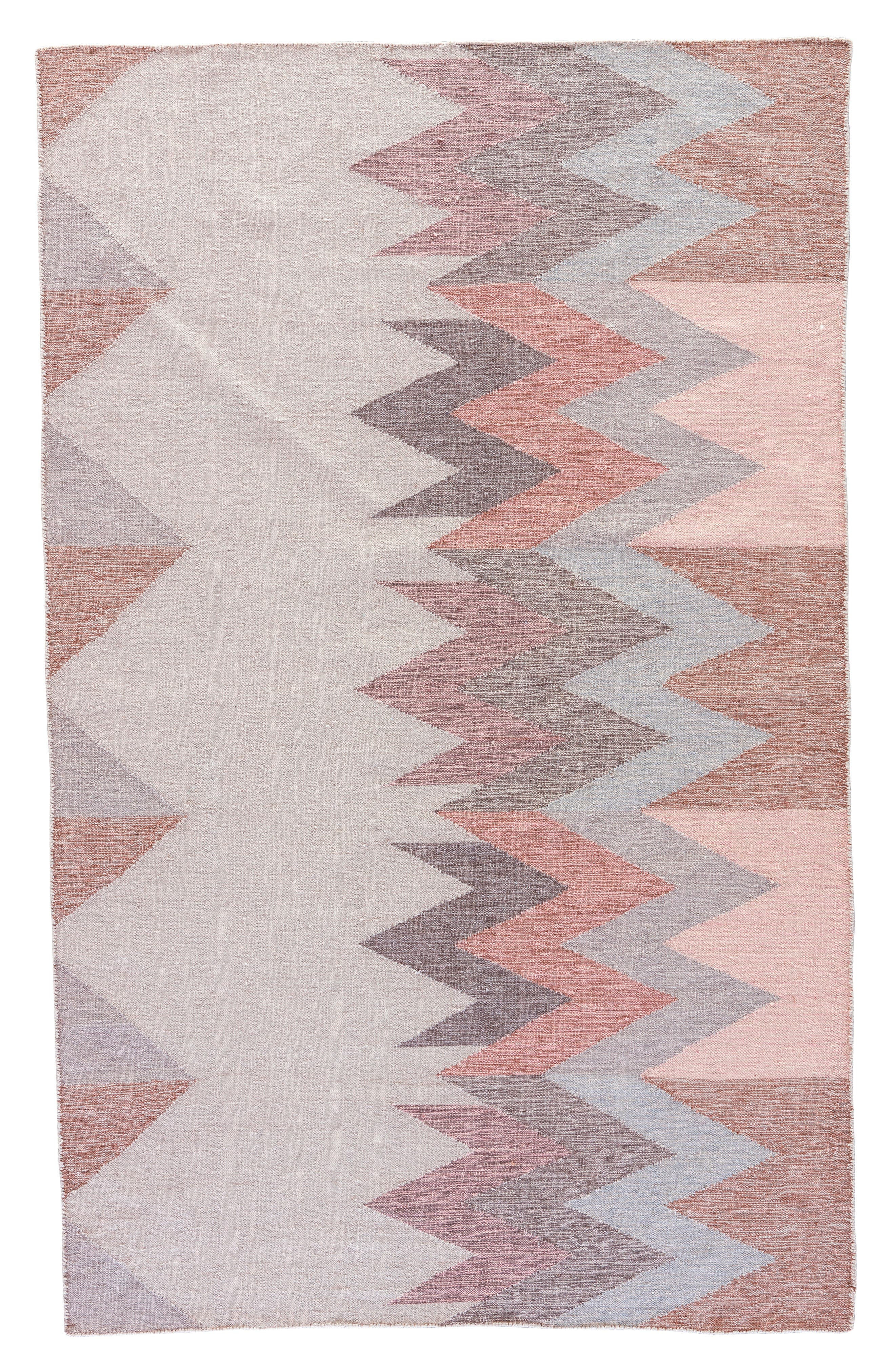 Geo Pattern Indoor/Outdoor Rug,                             Main thumbnail 1, color,                             Natural