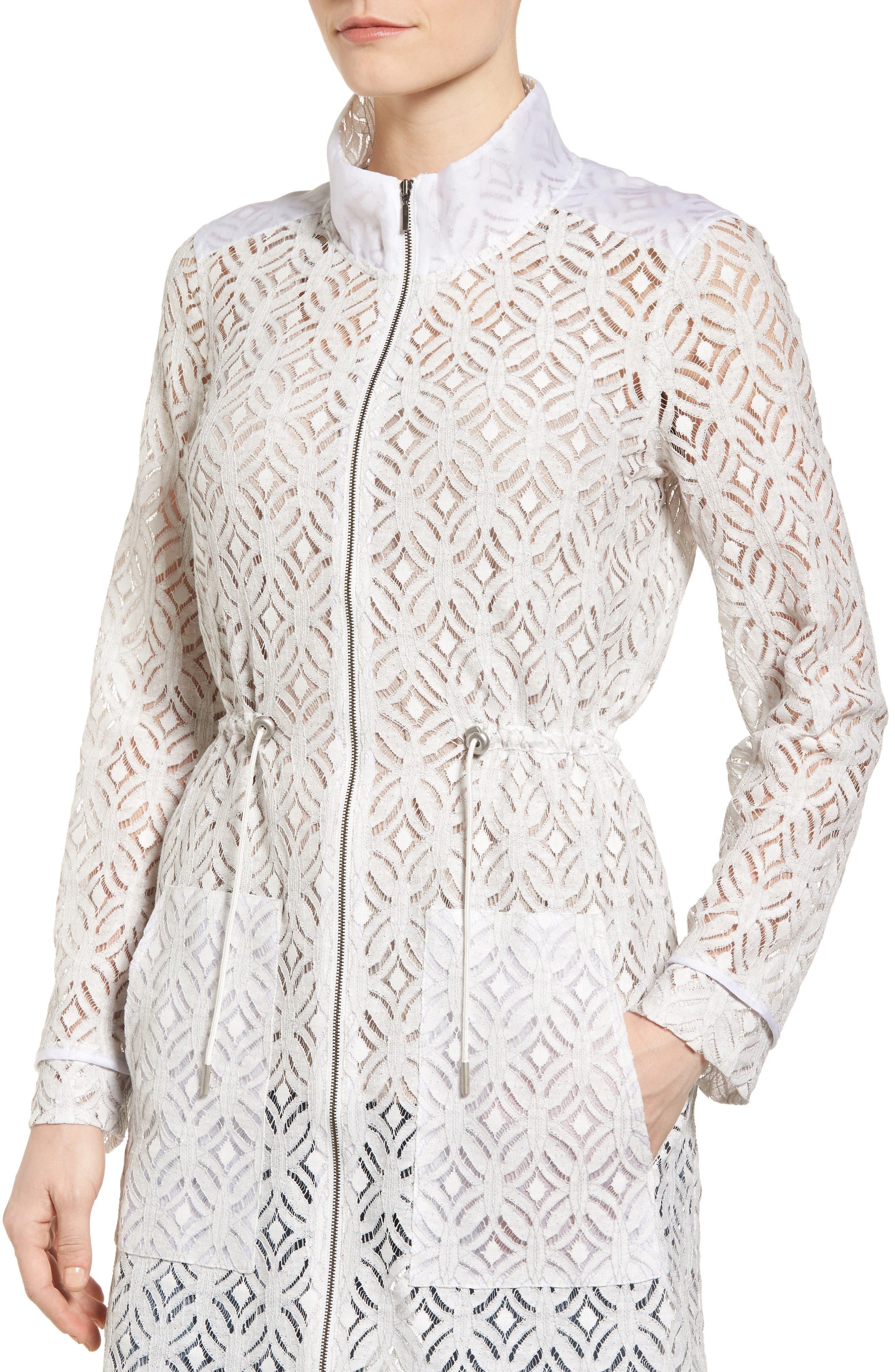 Alternate Image 4  - NIC+ZOE Lush Lace Coat
