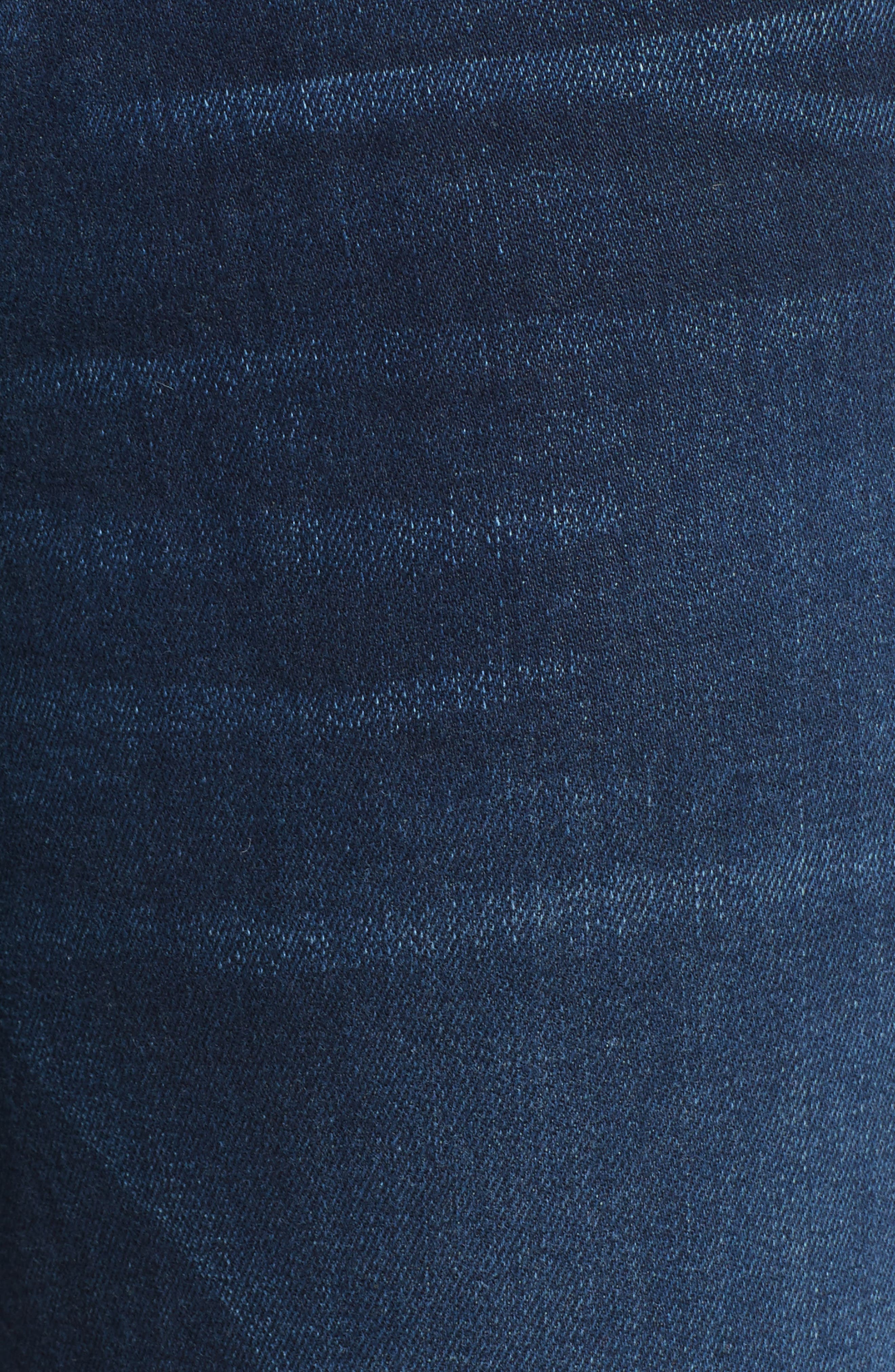 Alternate Image 5  - AMO 'Twist' Crop Skinny Jeans (Eclipse)