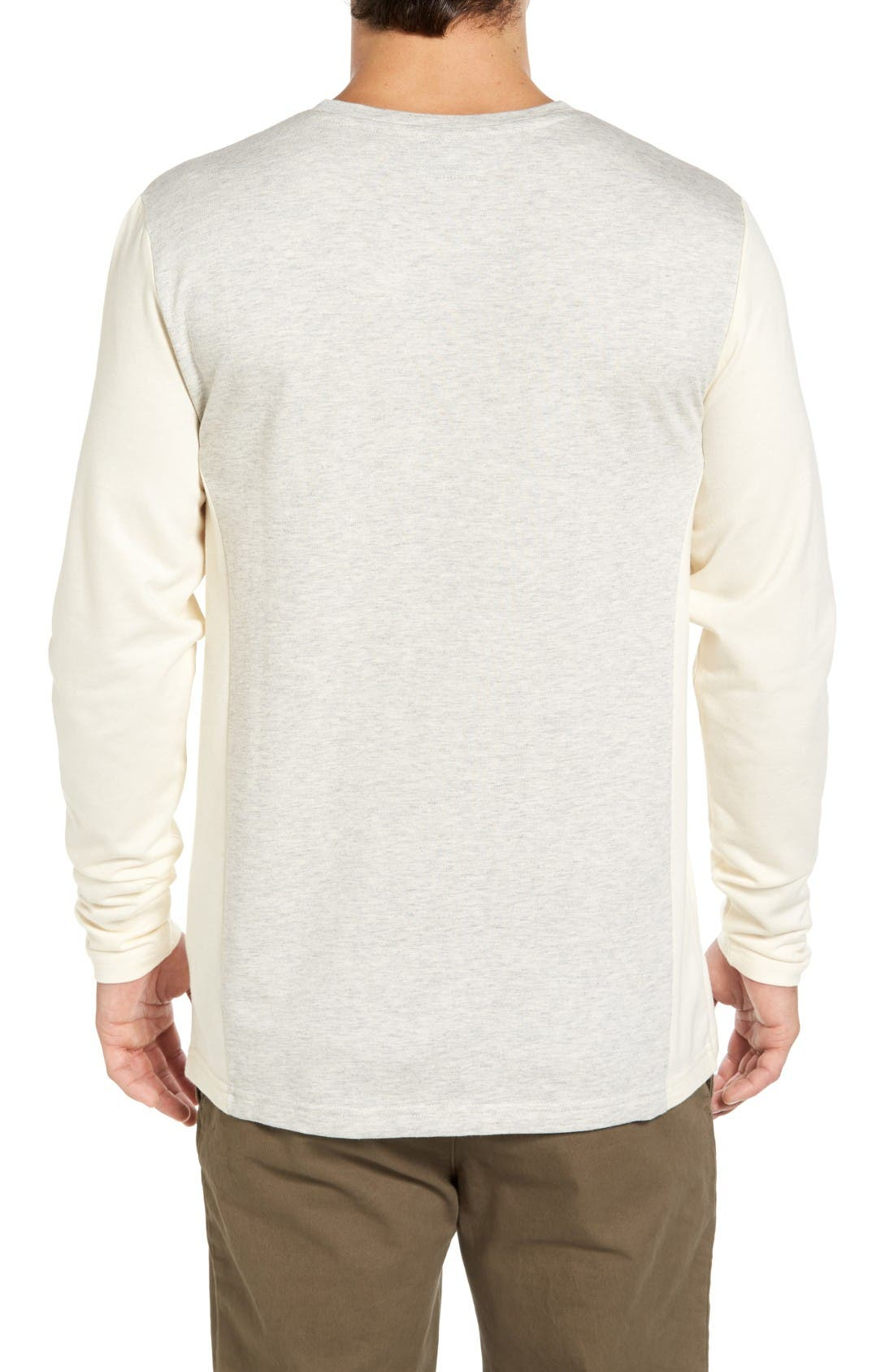 Alternate Image 2  - Singer + Sargent Cut and Sew French Crewneck Shirt