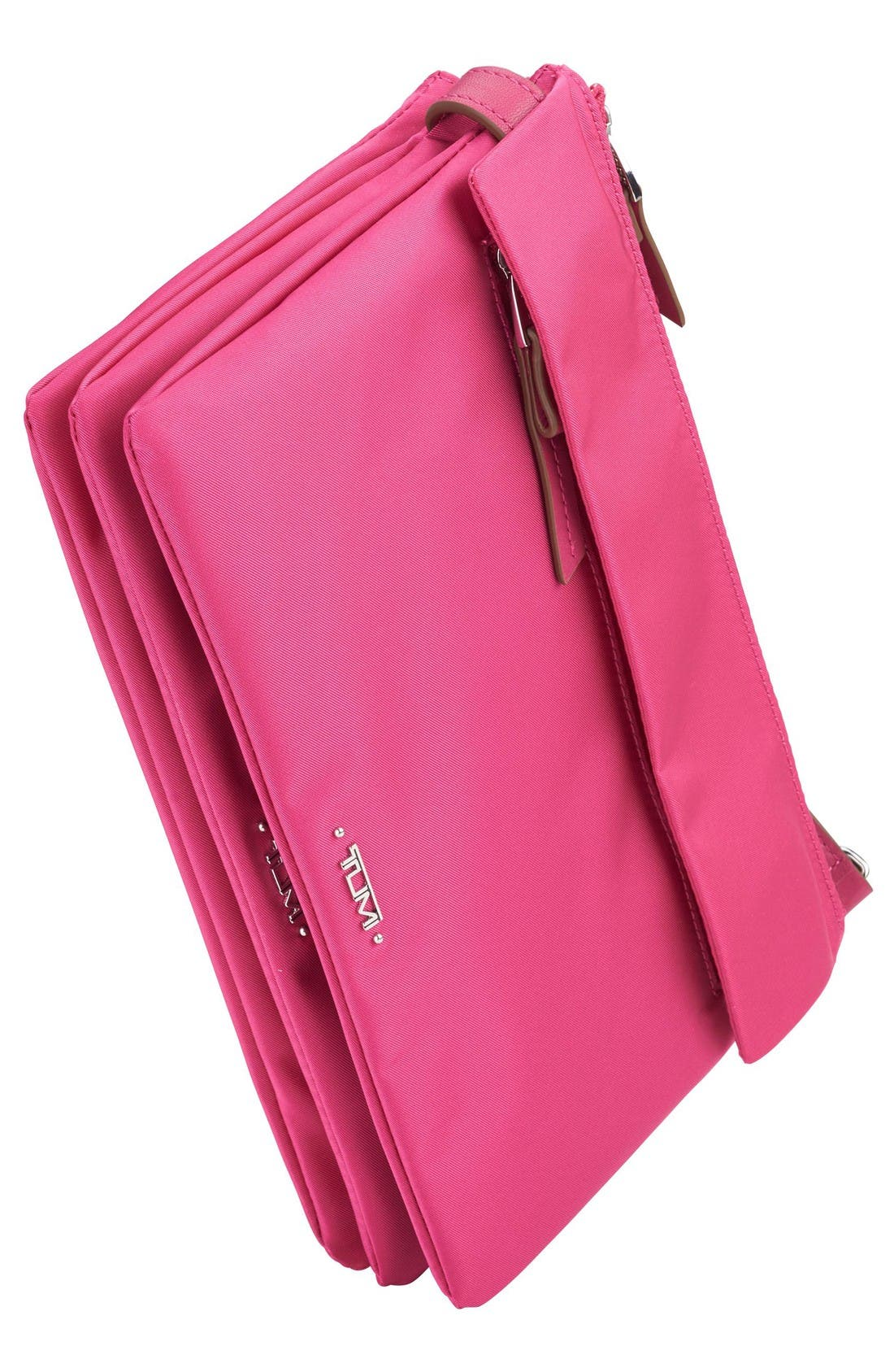 Voyageur - Tristen Nylon Crossbody Bag,                             Alternate thumbnail 4, color,                             Pink
