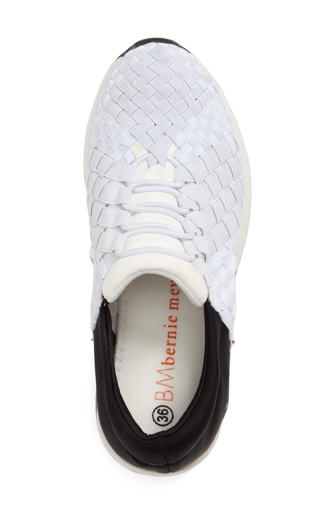 Alternate Image 3  - bernie mev. Best Tori Woven Sneaker (Women)