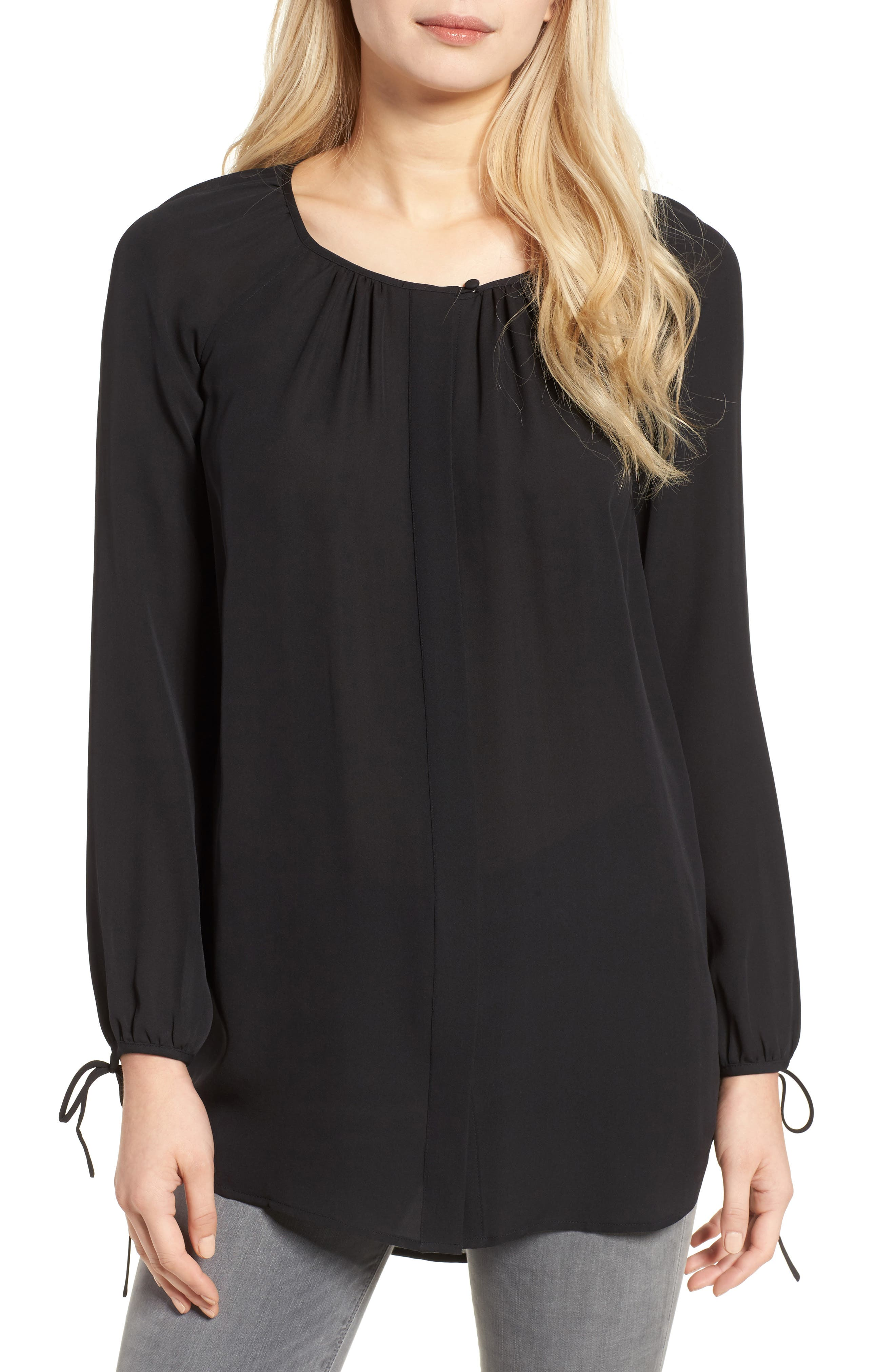 AG The Winters Silk Crepe Shirt
