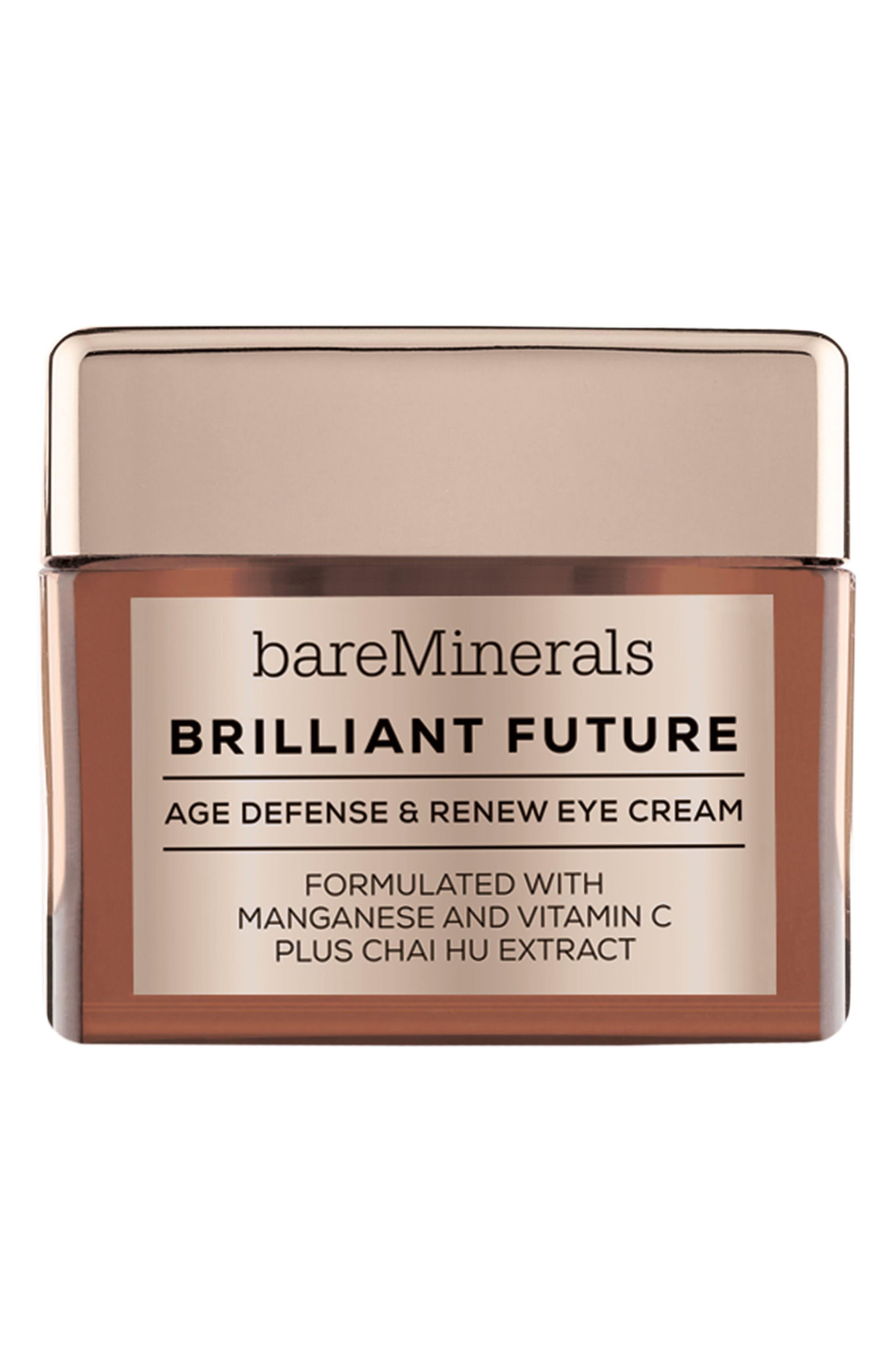 Main Image - bareMinerals® Brilliant Future™ Age Defense & Renew Eye Cream