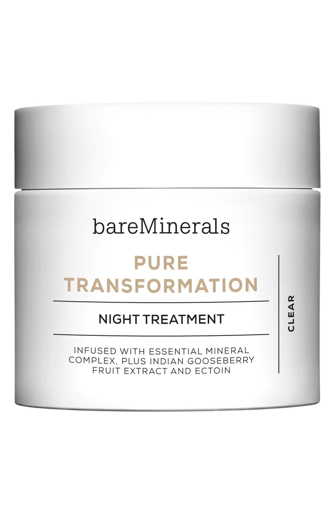 Skinsorials Pure Transformation Night Treatment,                             Main thumbnail 1, color,                             No Color