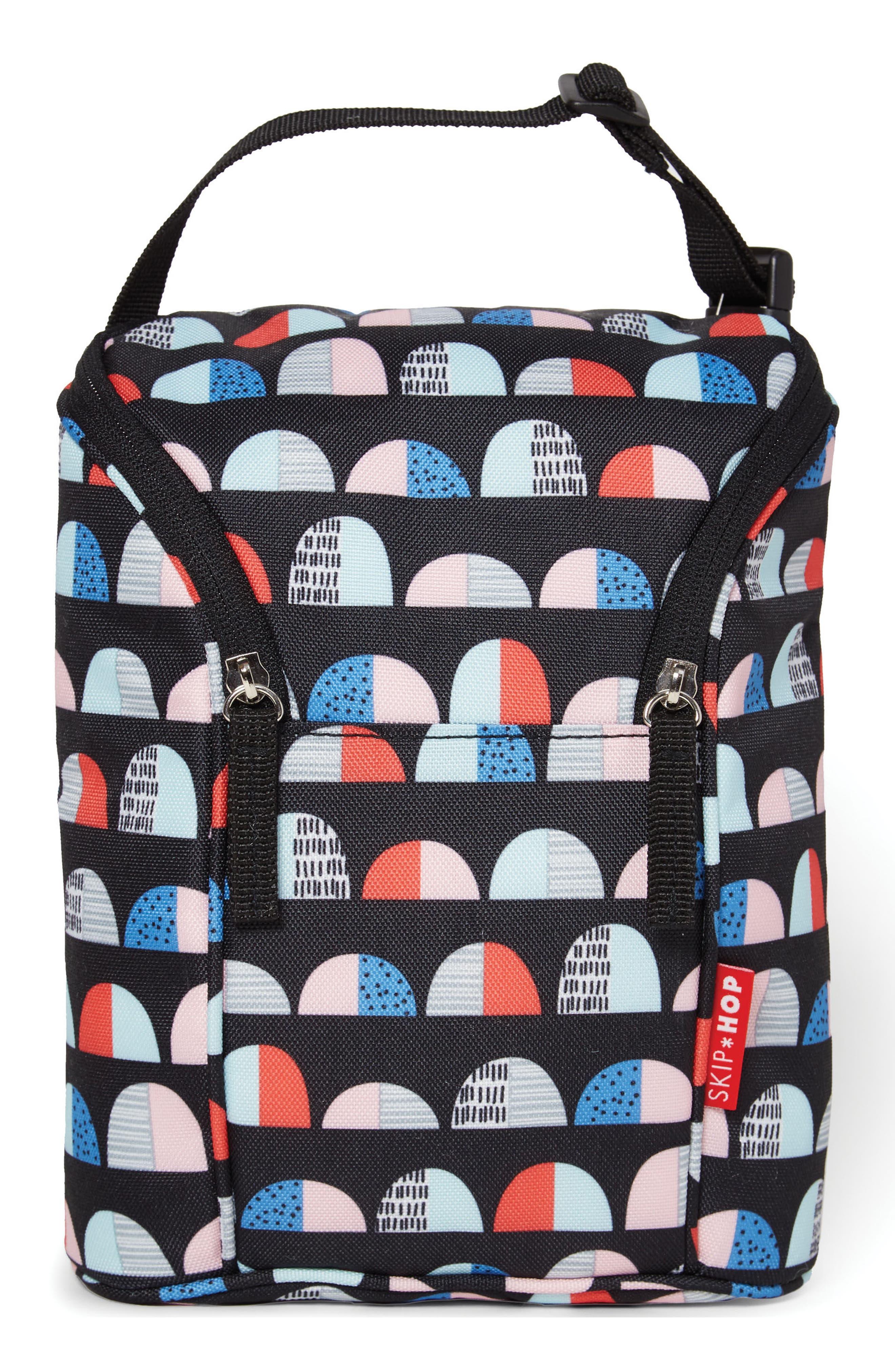 Main Image - Skip Hop 'Grab & Go' Double Bottle Bag