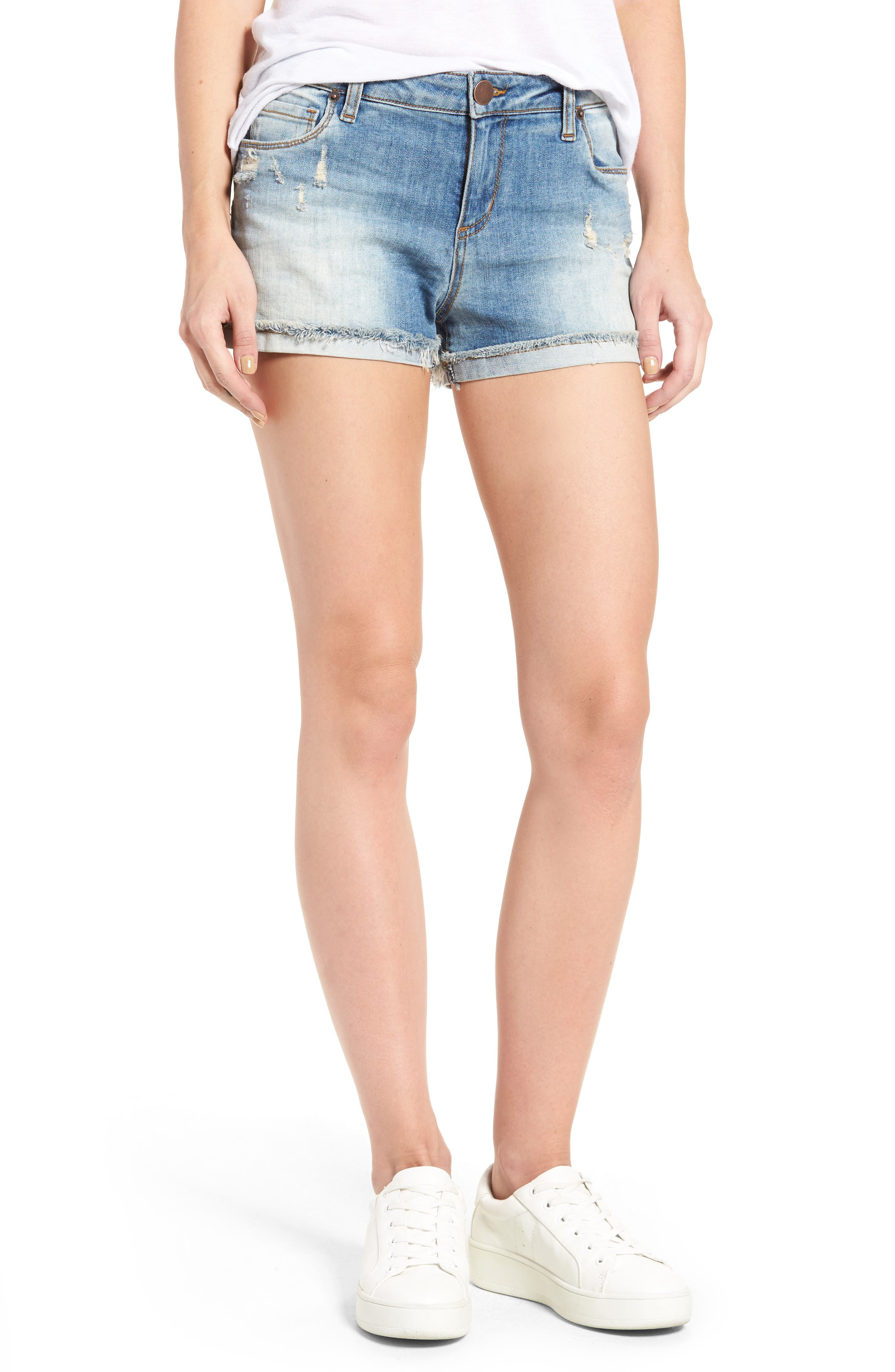 Alternate Image 1 Selected - STS Blue Boyfriend Shorts