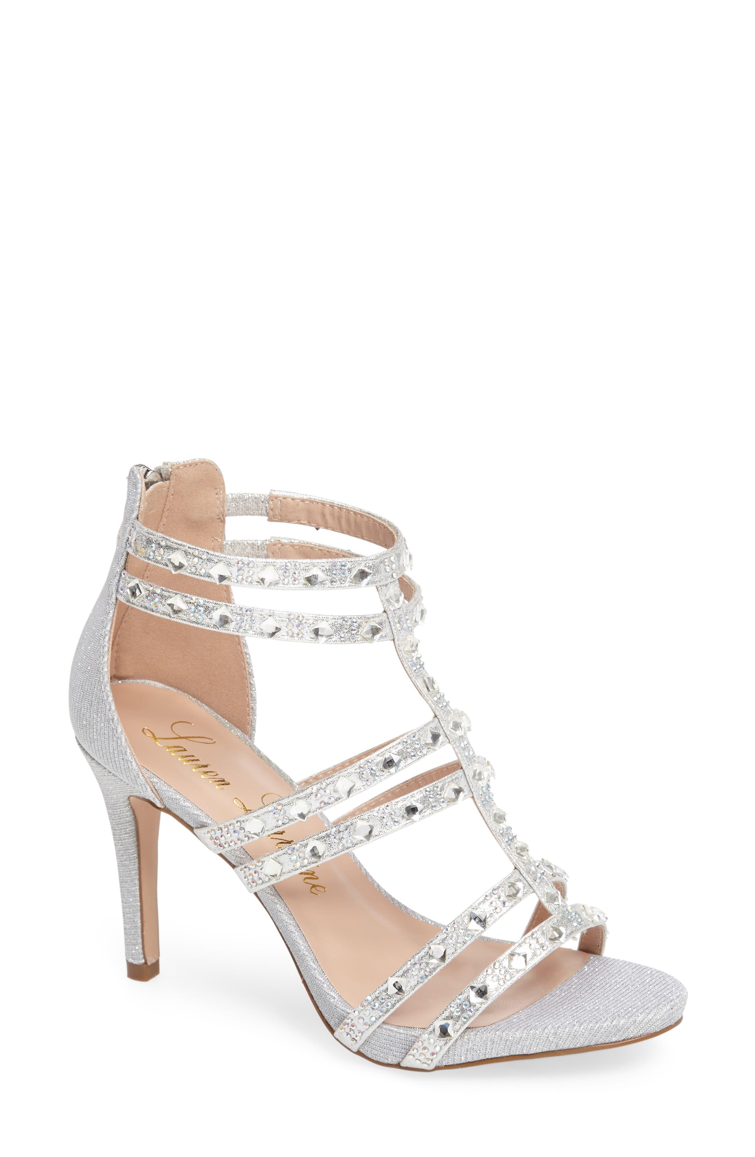 LAUREN LORRAINE Embellished Sandal