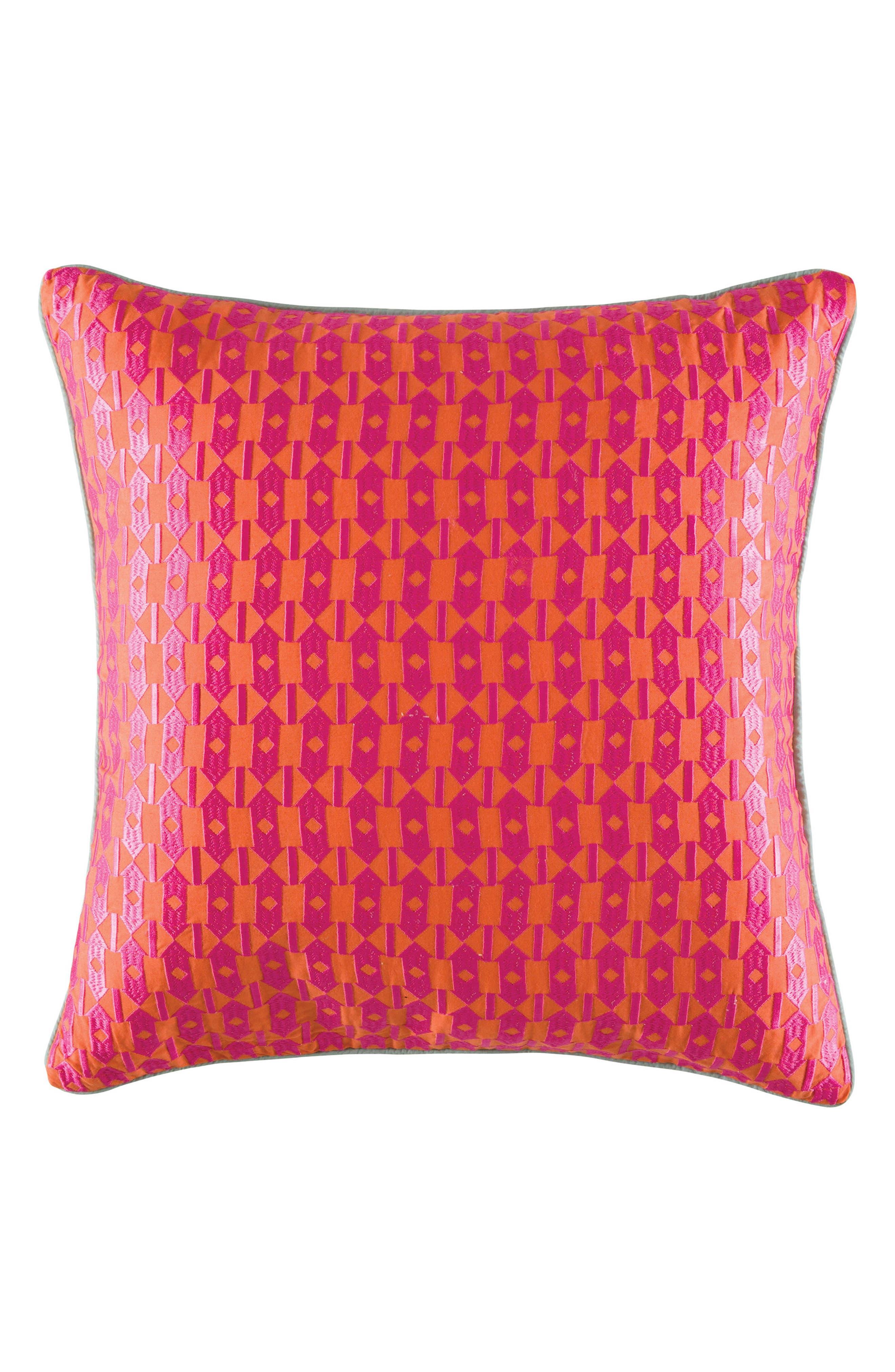 Alternate Image 1 Selected - KAS Designs Grenda Pillow