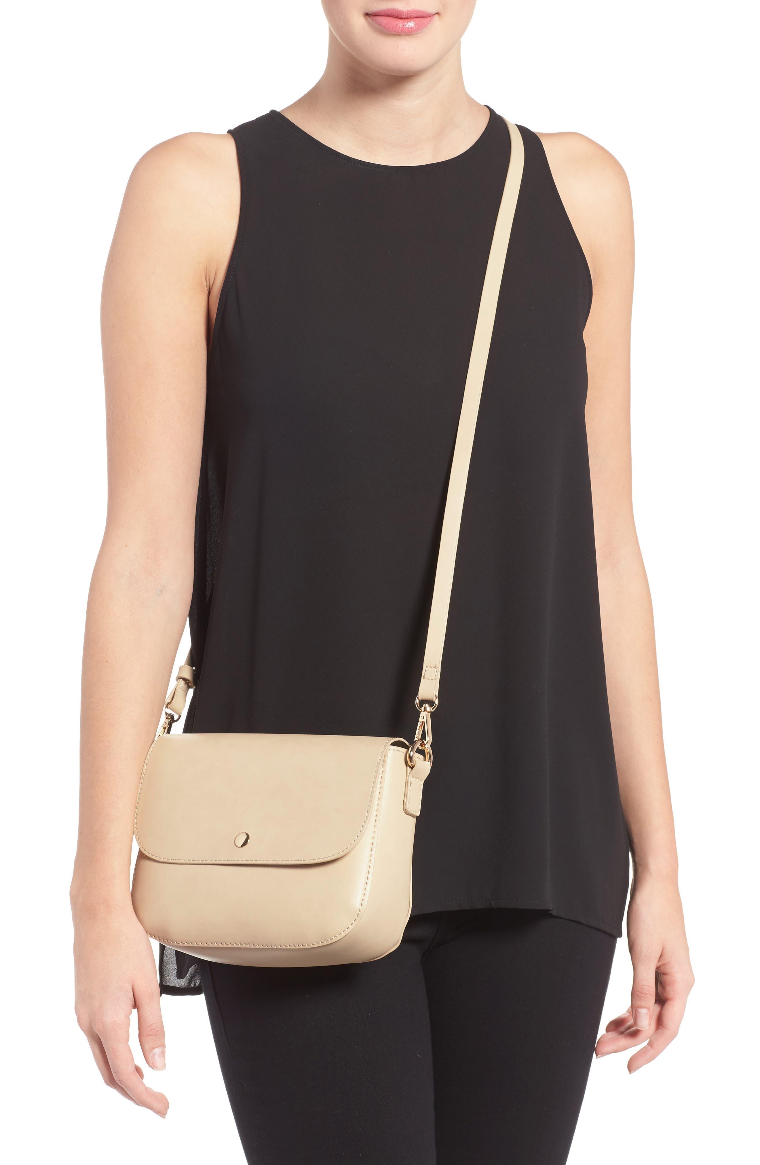 Alternate Image 2  - BP. Minimal Faux Leather Crossbody Bag