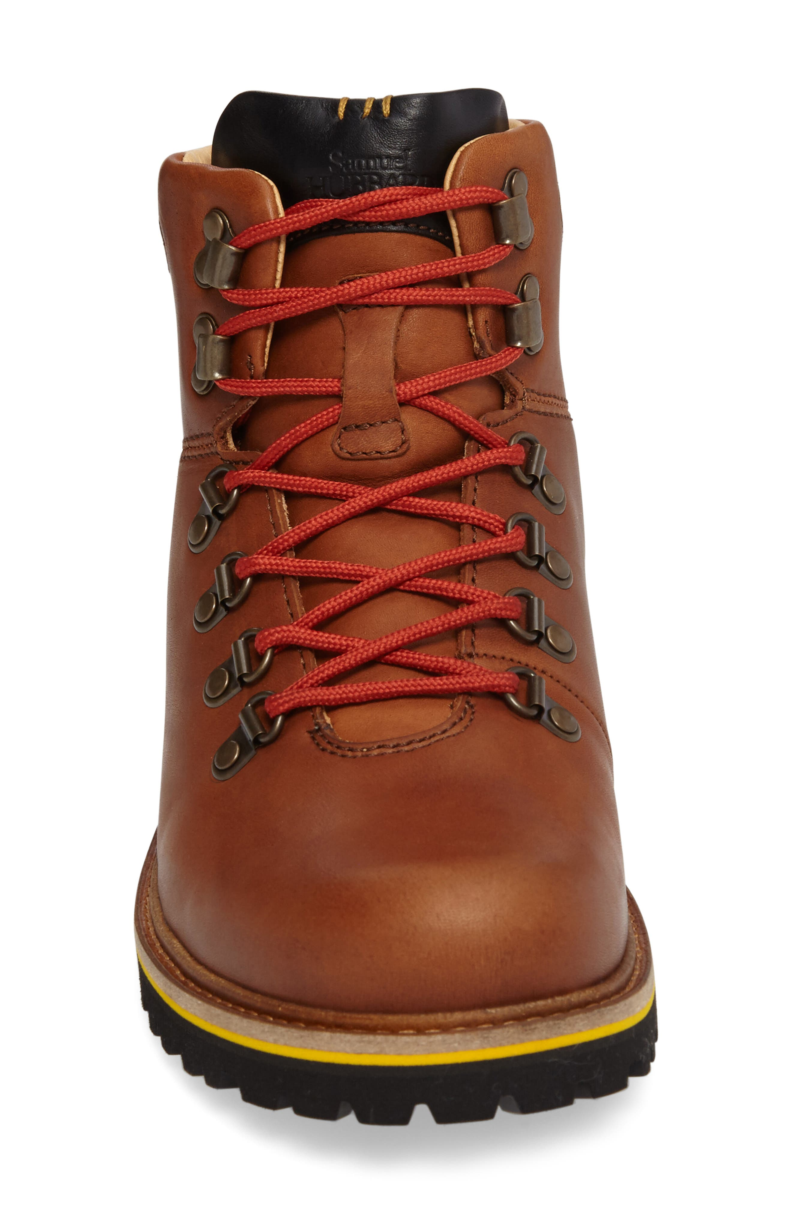 Mt. Tam Hiking Boot,                             Alternate thumbnail 3, color,                             Saddlebag Tan Leather