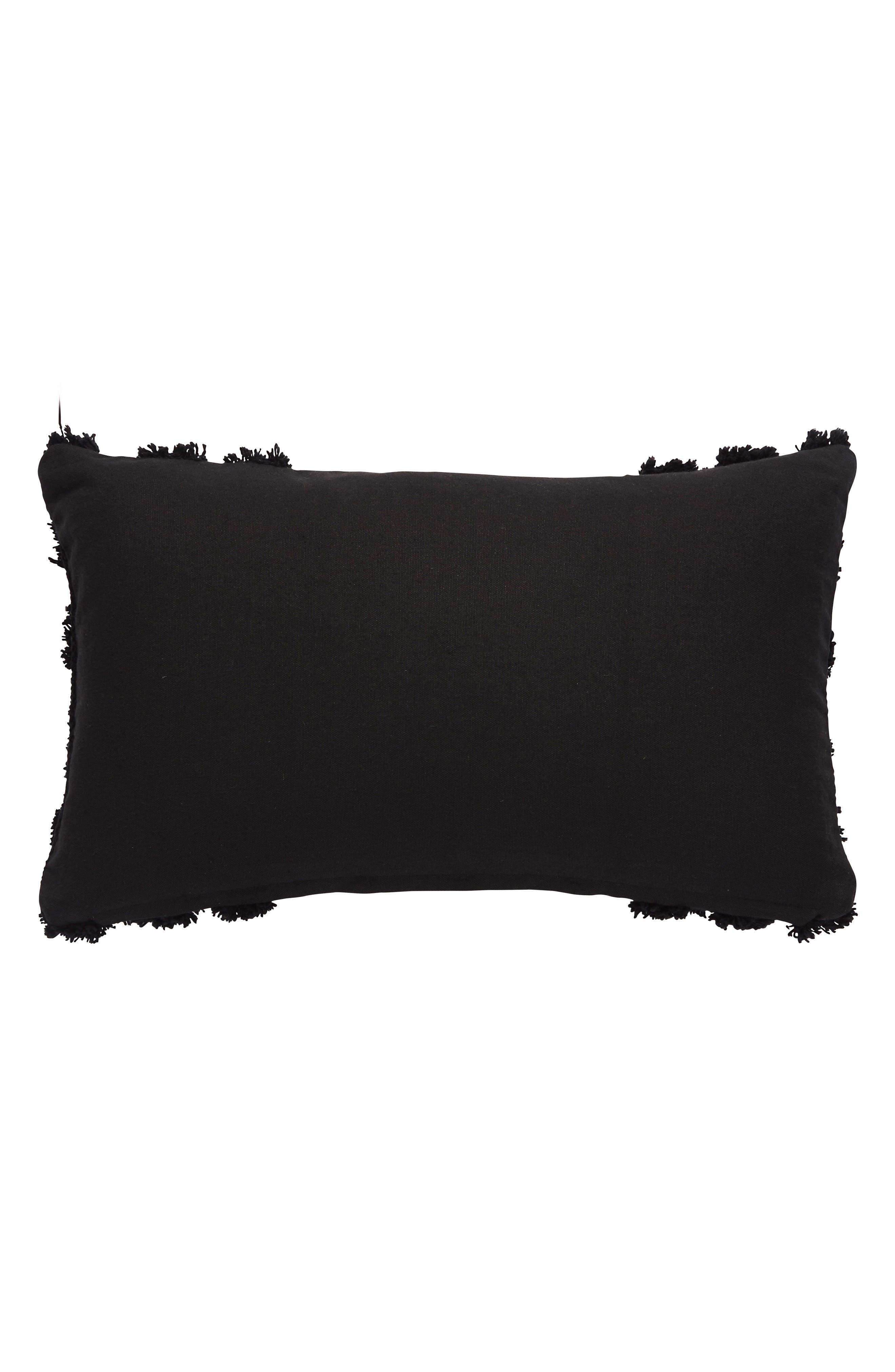 Accent Pillow,                             Alternate thumbnail 2, color,                             Black