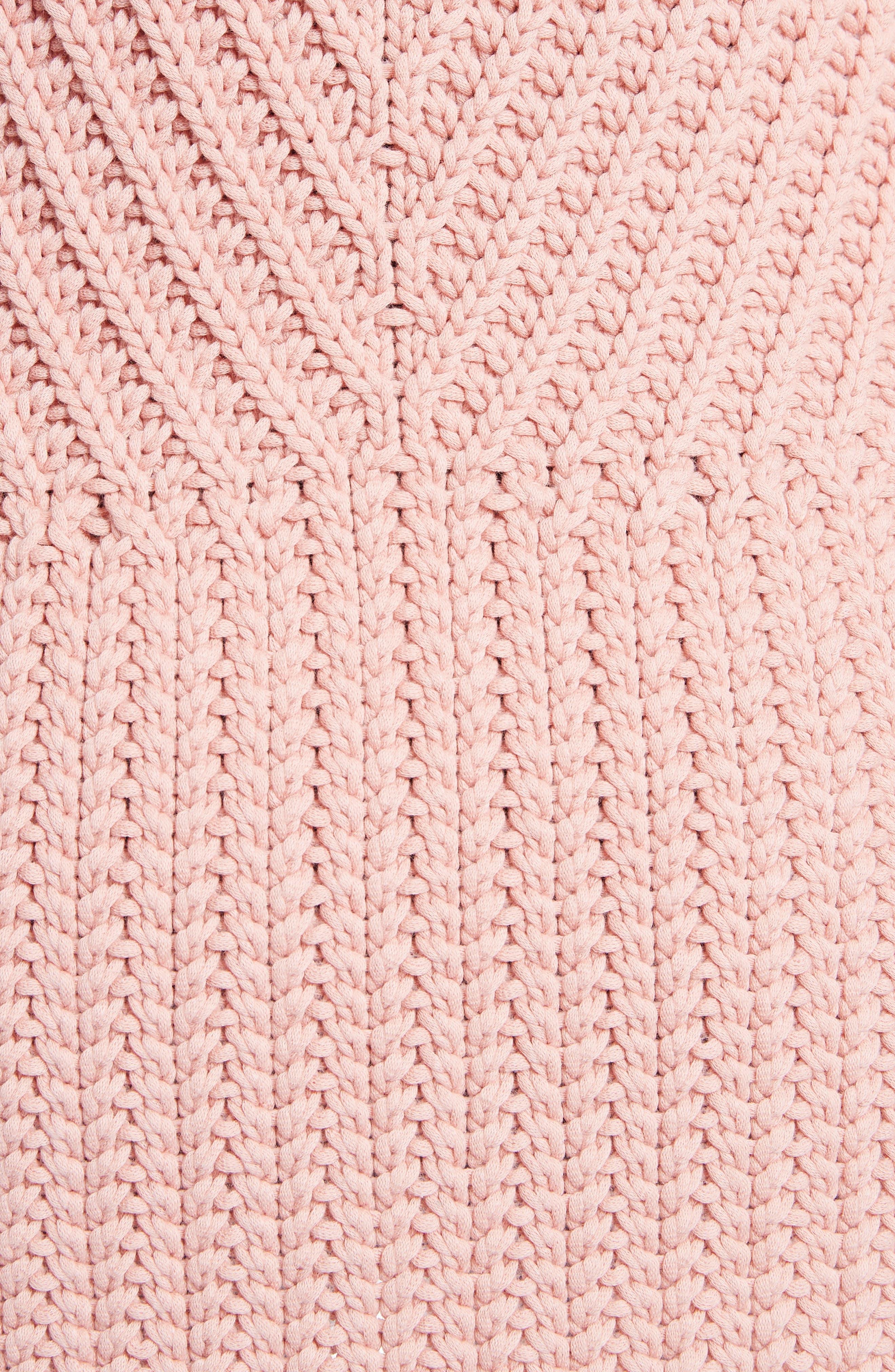 Alternate Image 5  - Alice + Olivia Abbot Mock Neck Sweater