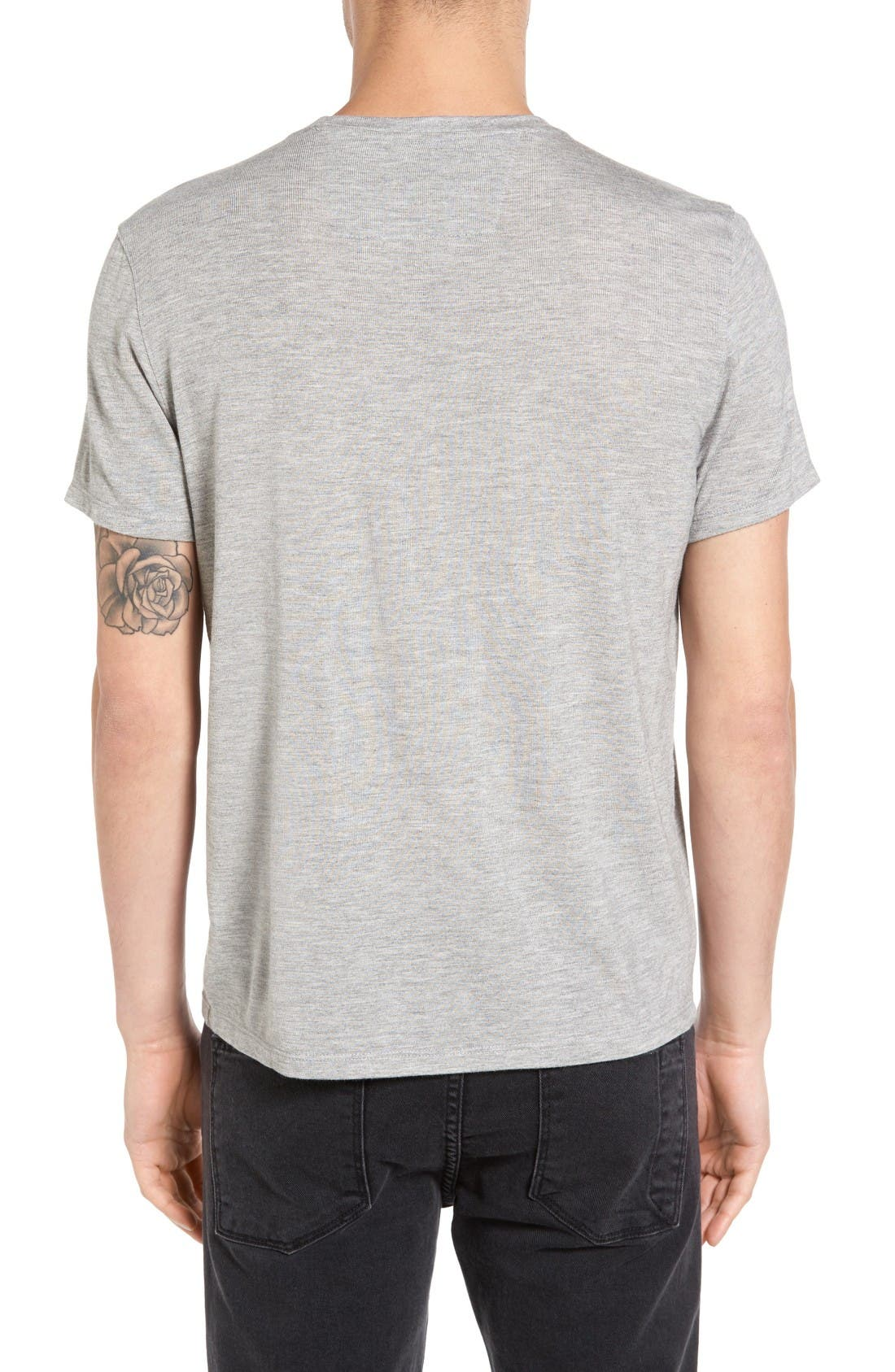Graphic T-Shirt,                             Alternate thumbnail 2, color,                             Grey Heather