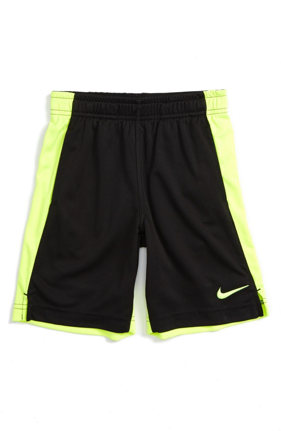 Alternate Image 1 Selected - Nike Dri-FIT Shorts (Toddler Boys & Little Boys)