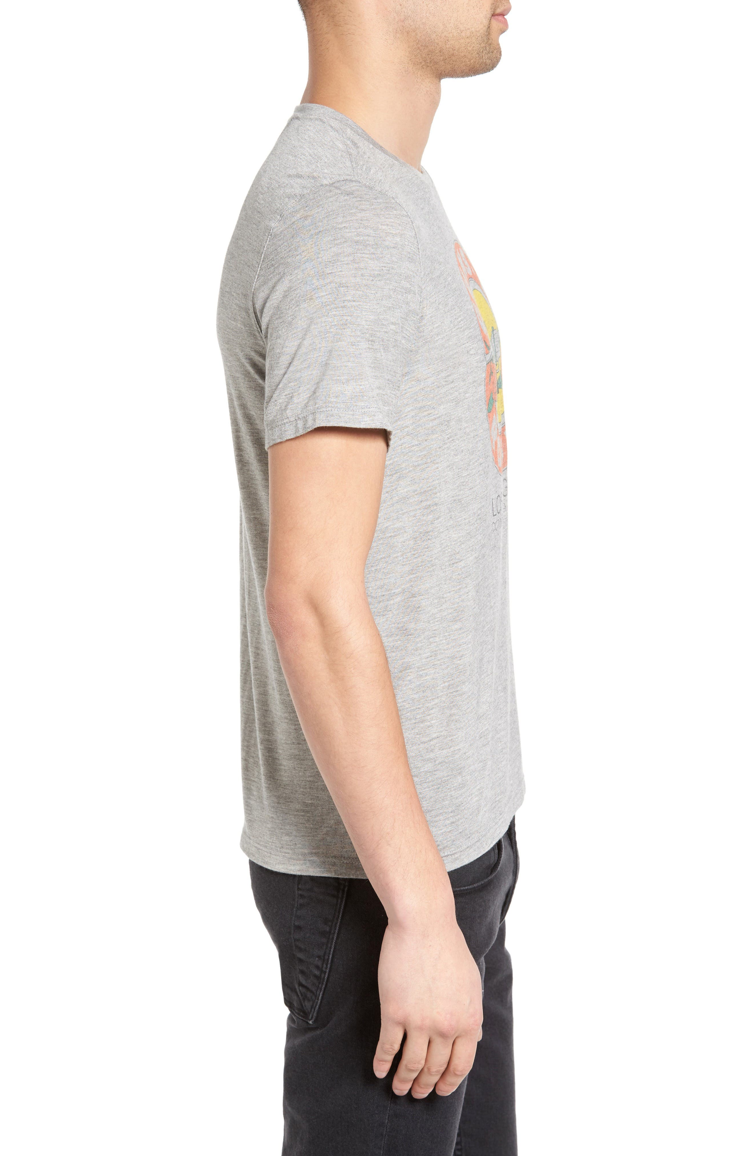 Graphic T-Shirt,                             Alternate thumbnail 3, color,                             Grey Heather